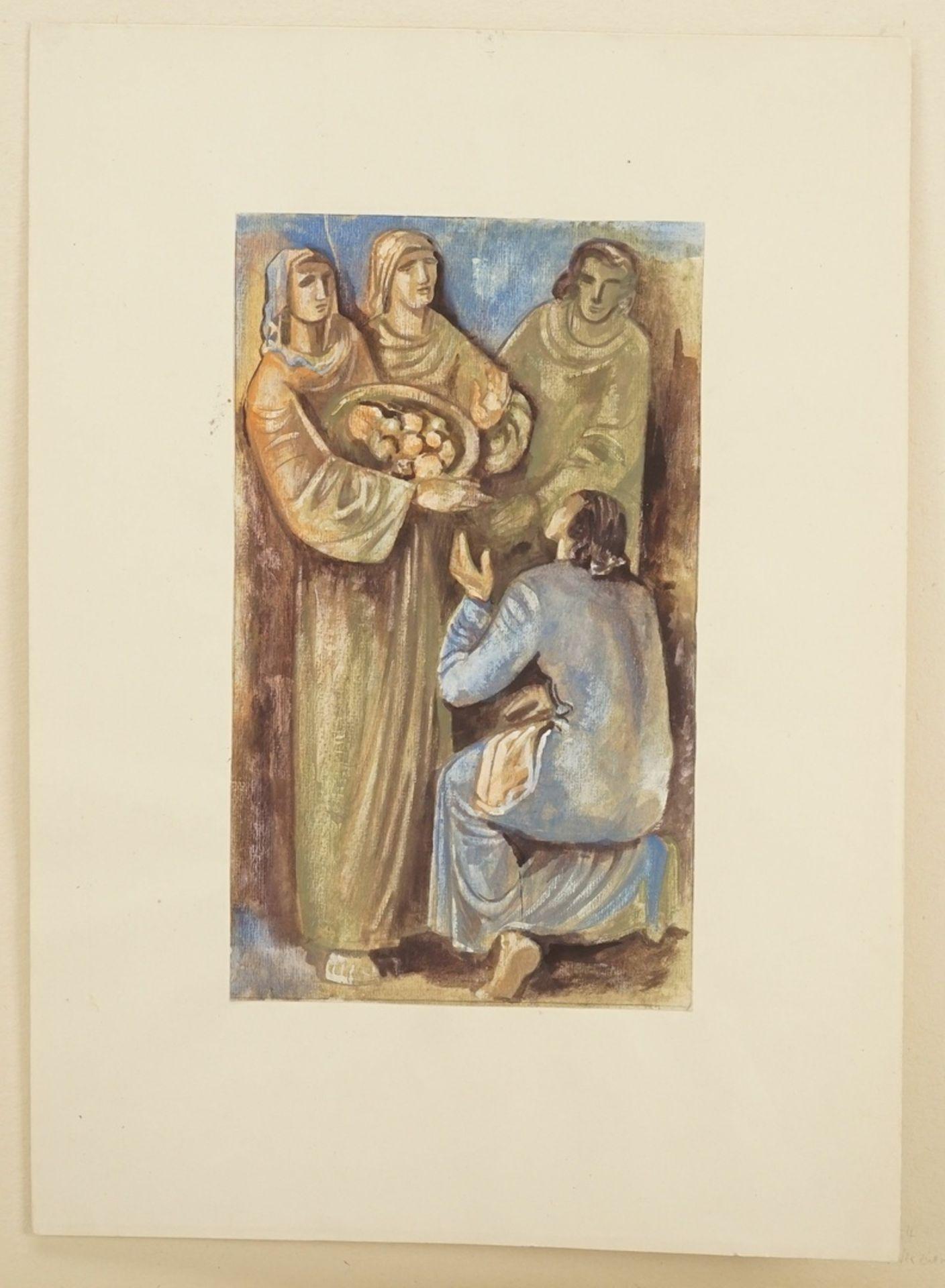 Richard Schwarzkopf, Speisung der Armen ( ) - Bild 3 aus 4