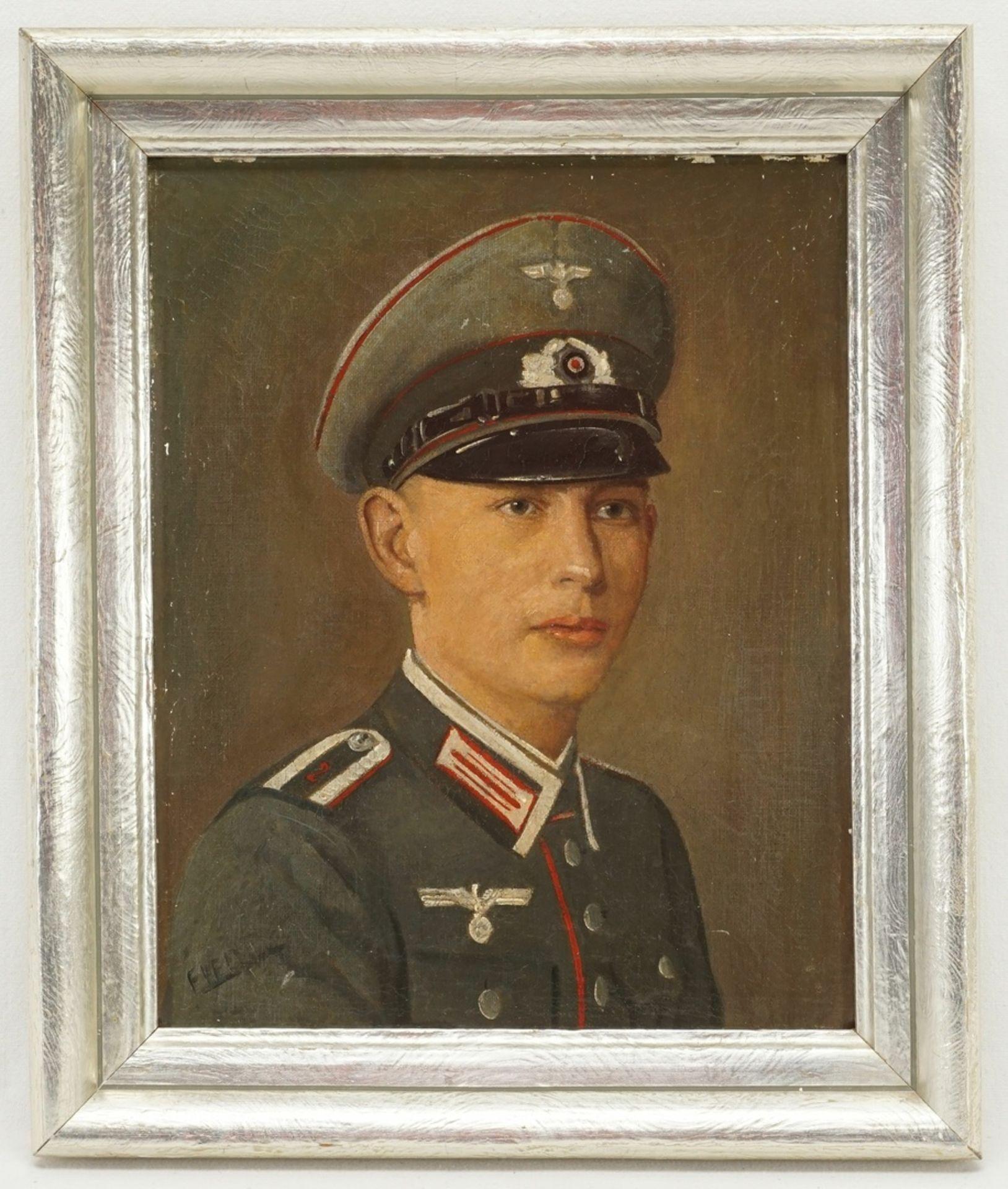 Bildnis eines Wehrmachts-Unteroffizier - Bild 2 aus 4