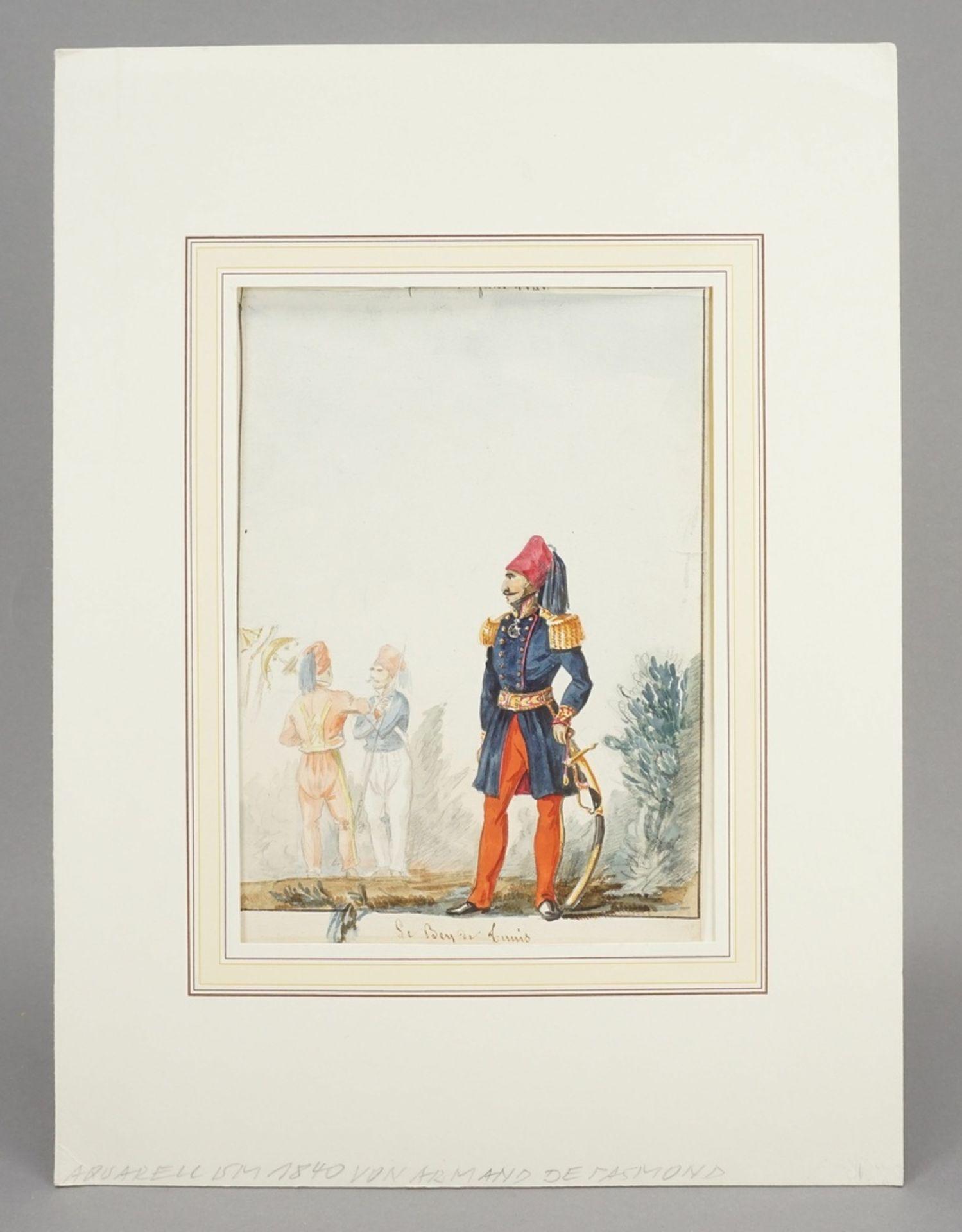 """Armand de Pasmond, """"Le Bey de Tunis"""" - Bild 2 aus 3"""