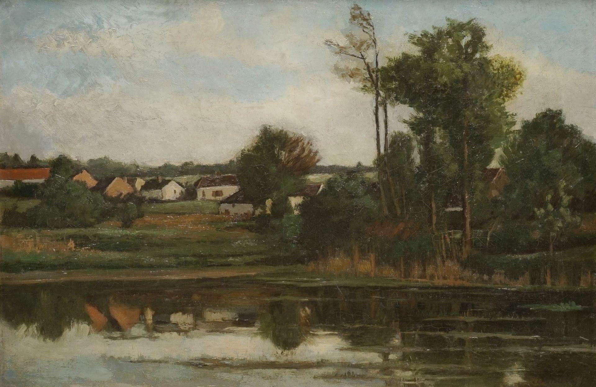 Binder, Flusslandschaft
