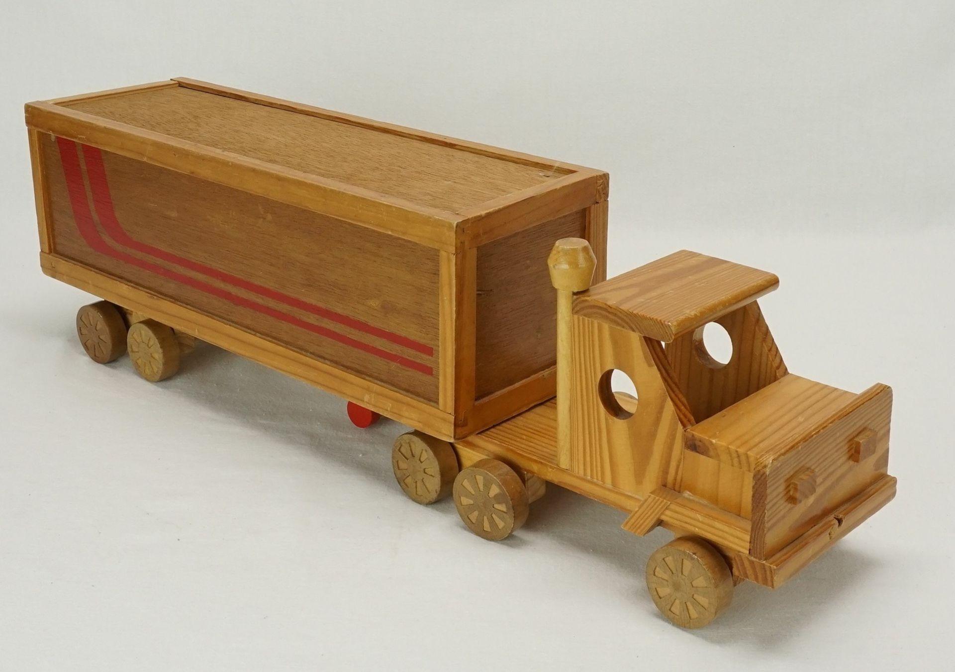 Holz Truck, 2. Hälfte 20. Jh. - Bild 2 aus 3