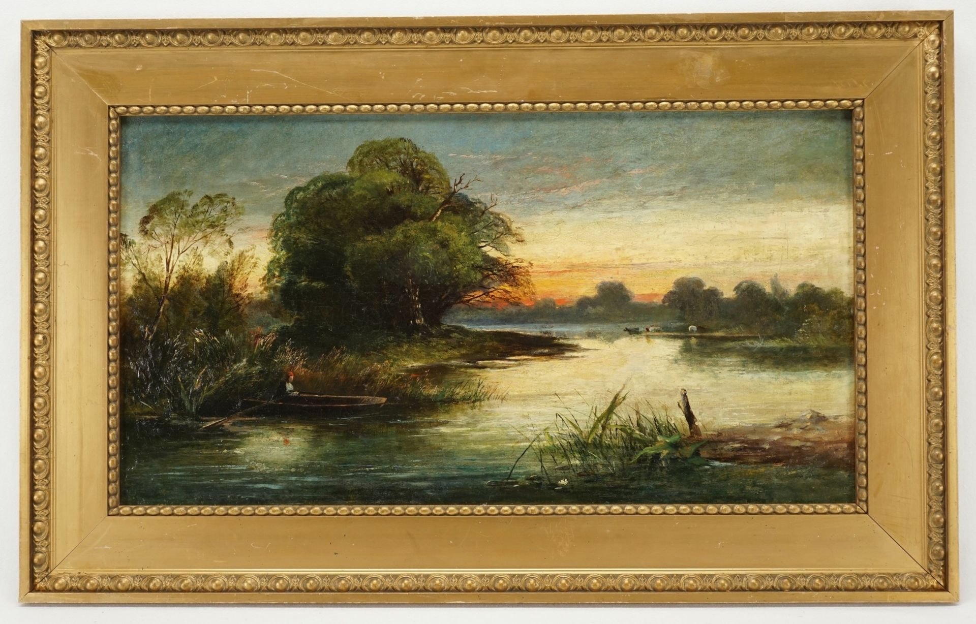 Charles-Francois Daubigny, Abenddämmerung über der Oise - Bild 2 aus 3