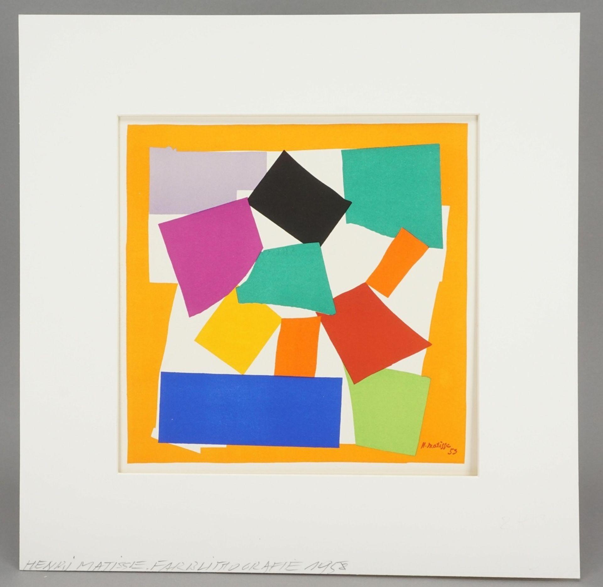 """Henri Matisse, """"L'escargot"""" (Die Schnecke) - Bild 2 aus 5"""