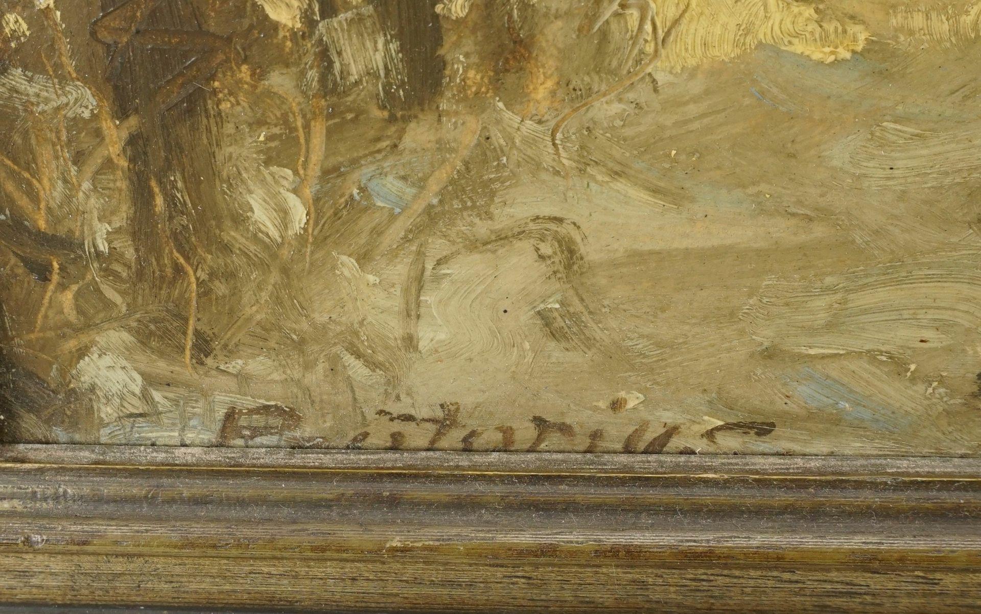 Friedrich Prätorius, Winterblick auf die Kirche - Bild 4 aus 4