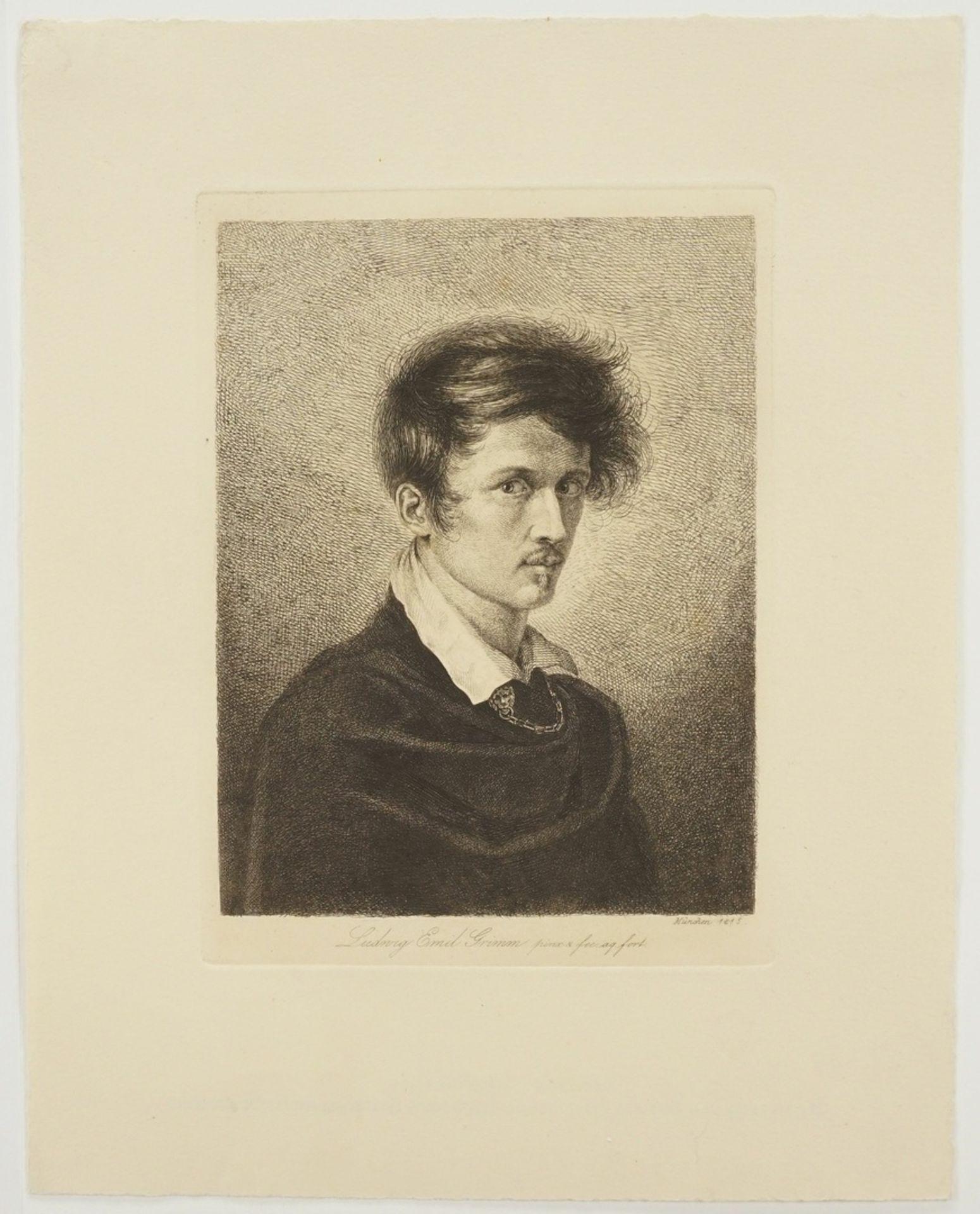 """Ludwig Emil Grimm, """"Selbst"""" - Bild 3 aus 4"""