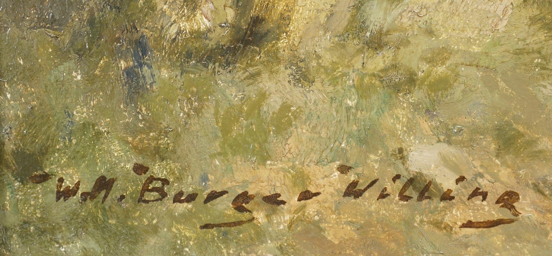 """Willi Hans Burger-Willing, """"Herbstliches Seeufer mit Booten"""" - Bild 4 aus 4"""