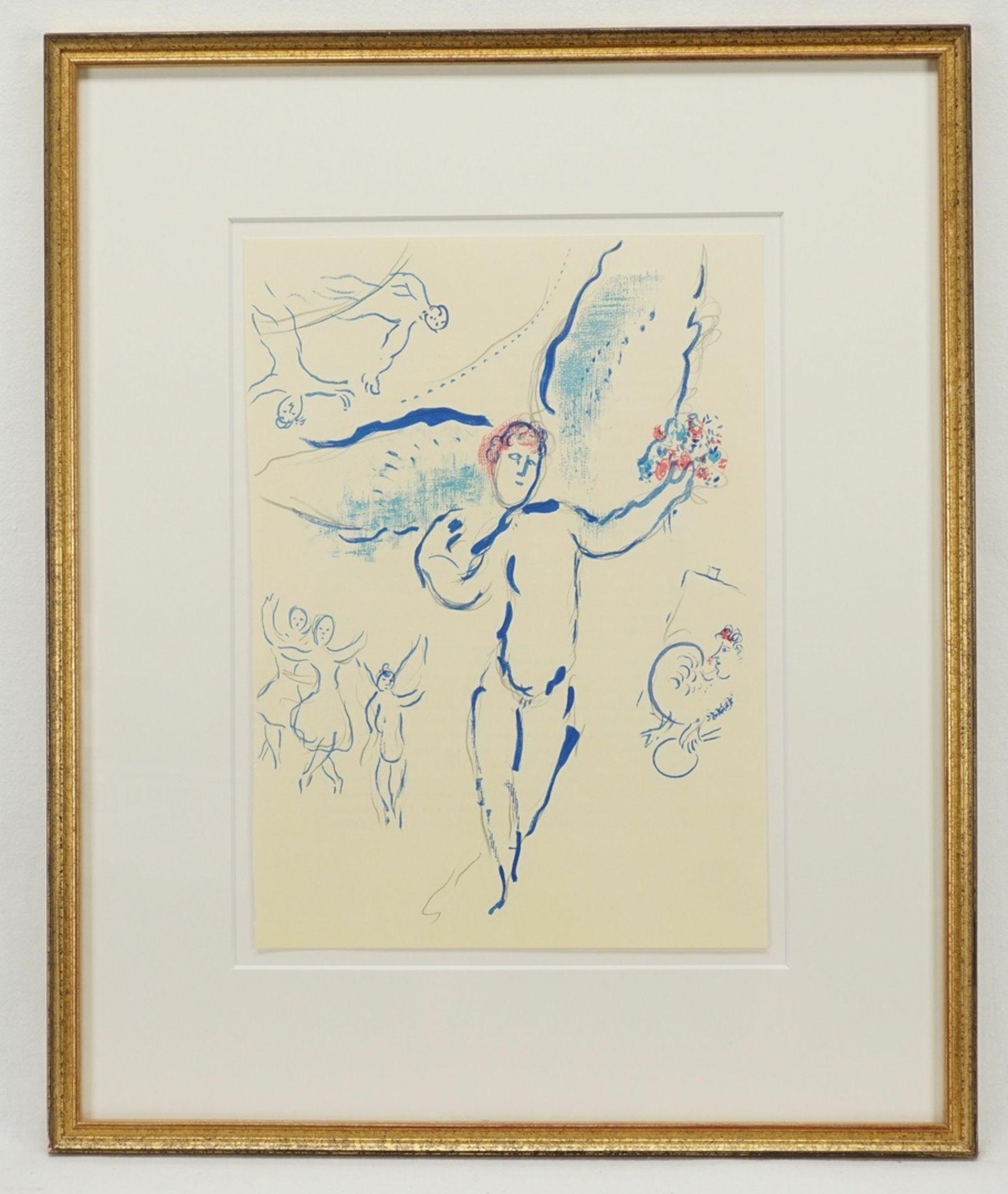 "Marc Chagall, ""L'Oiseau de feu"" (Feuervogel) - Bild 2 aus 2"