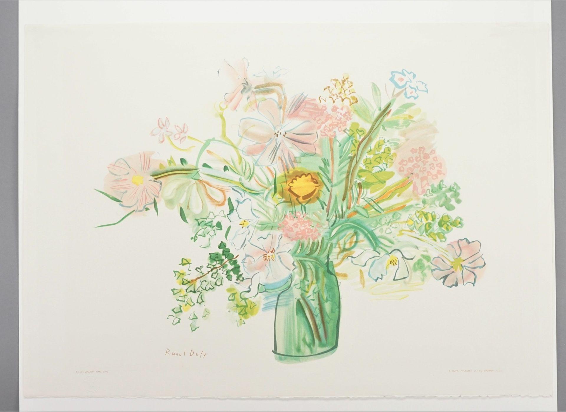 "Raoul Dufy, ""Fleurs"" (Blumen) - Bild 3 aus 4"