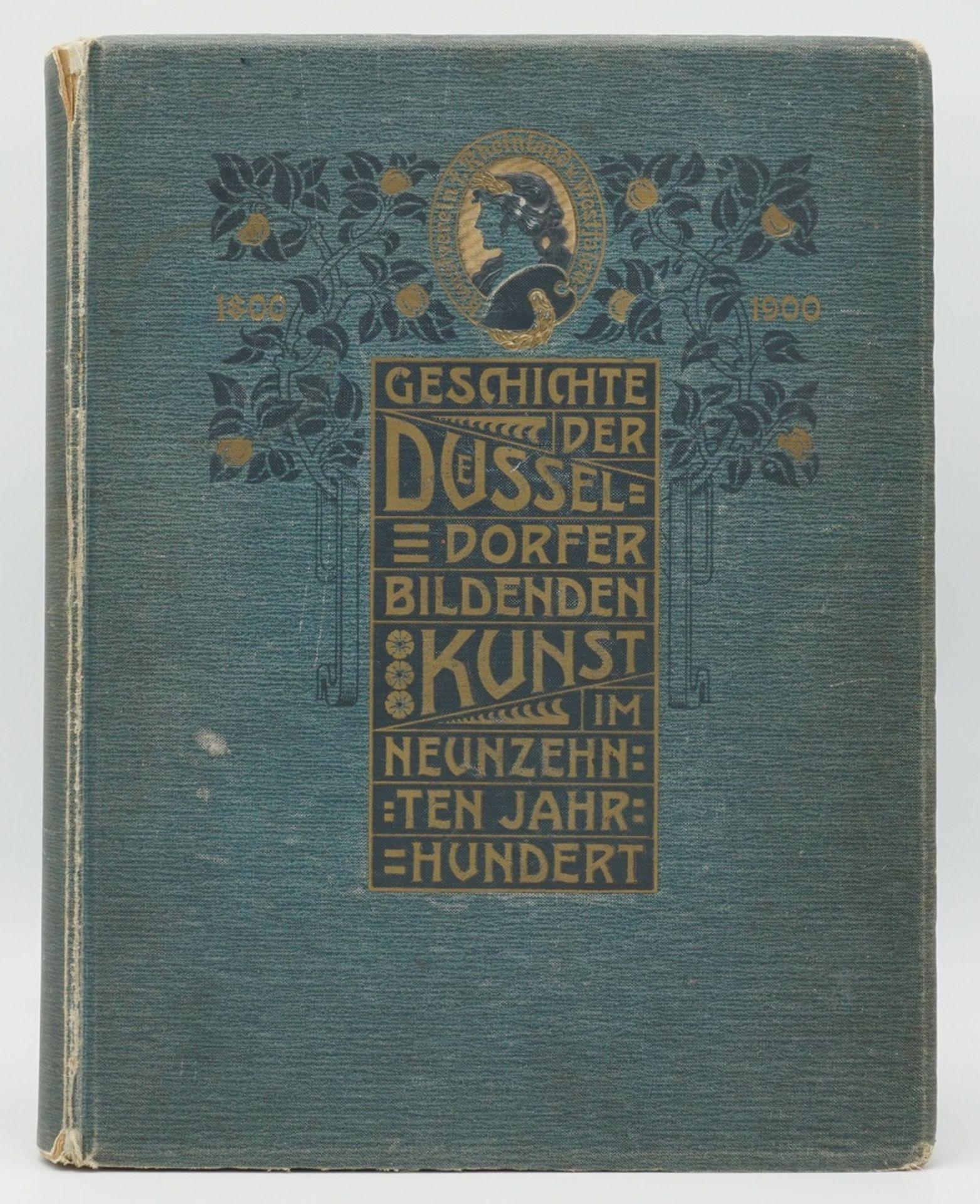 """Friedrich Schaarschmidt, """"Zur Geschichte der Düsseldorfer Kunst"""""""