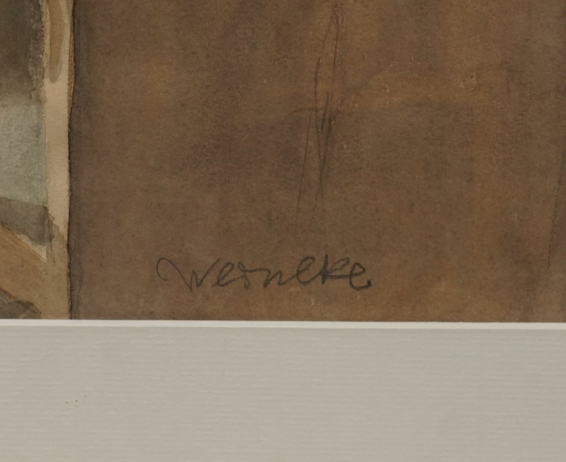 """Franz Werneke, """"Stillleben am Fenster"""" - Bild 3 aus 3"""