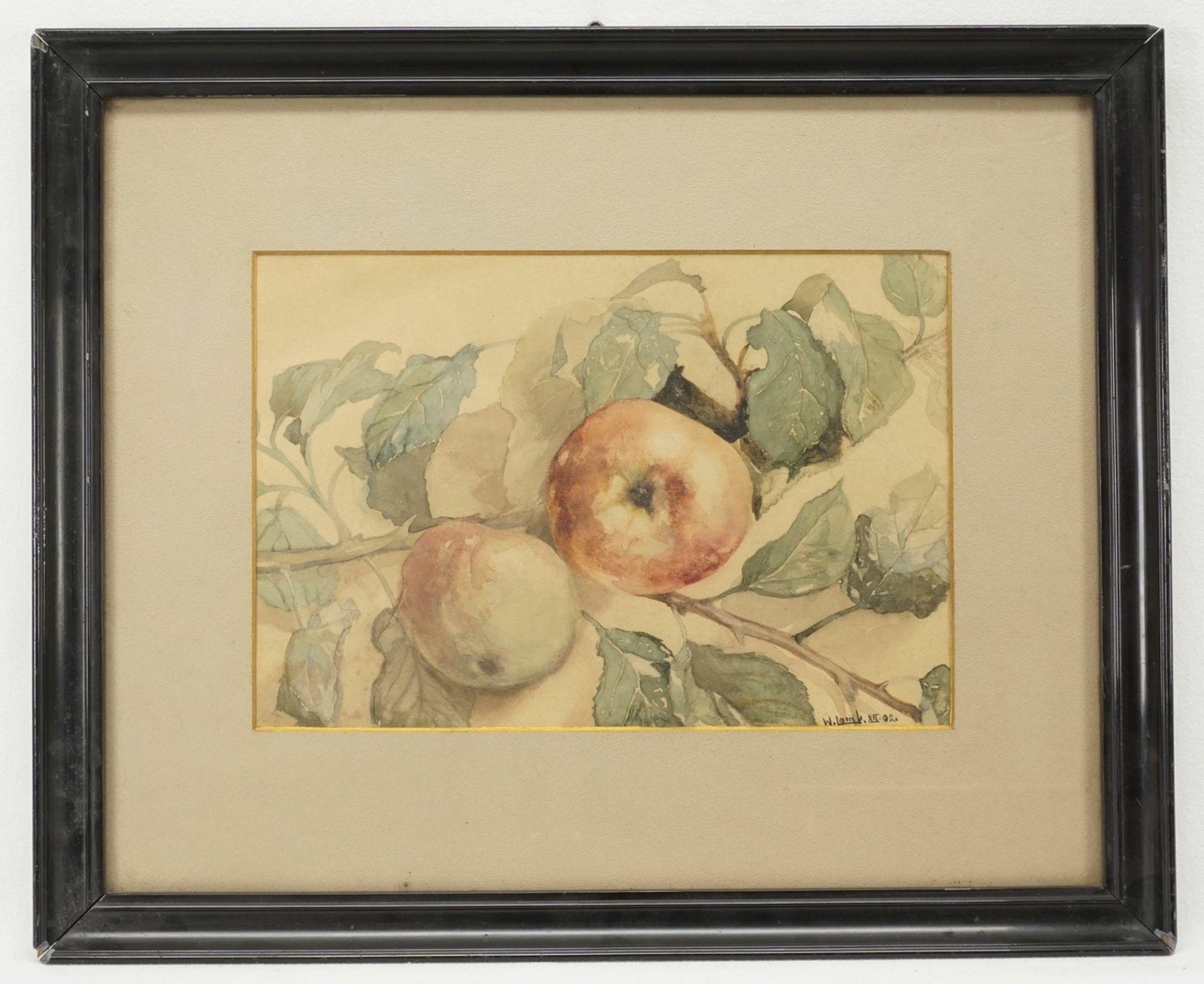 W. Lamb, Kirsch- und Apfelzweig - Bild 4 aus 6