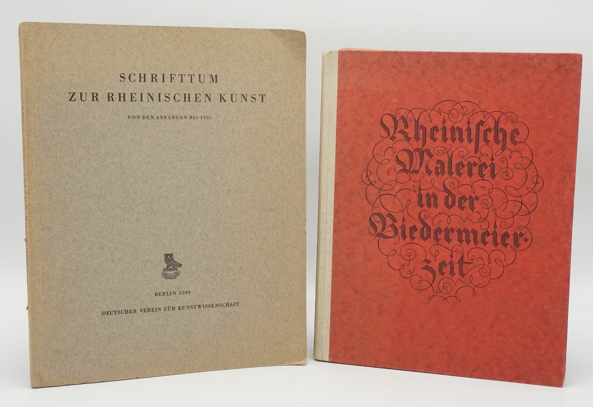 Schrifttum zur rheinischen Kunst / Rheinische Kunst in der Biedermeierzeit