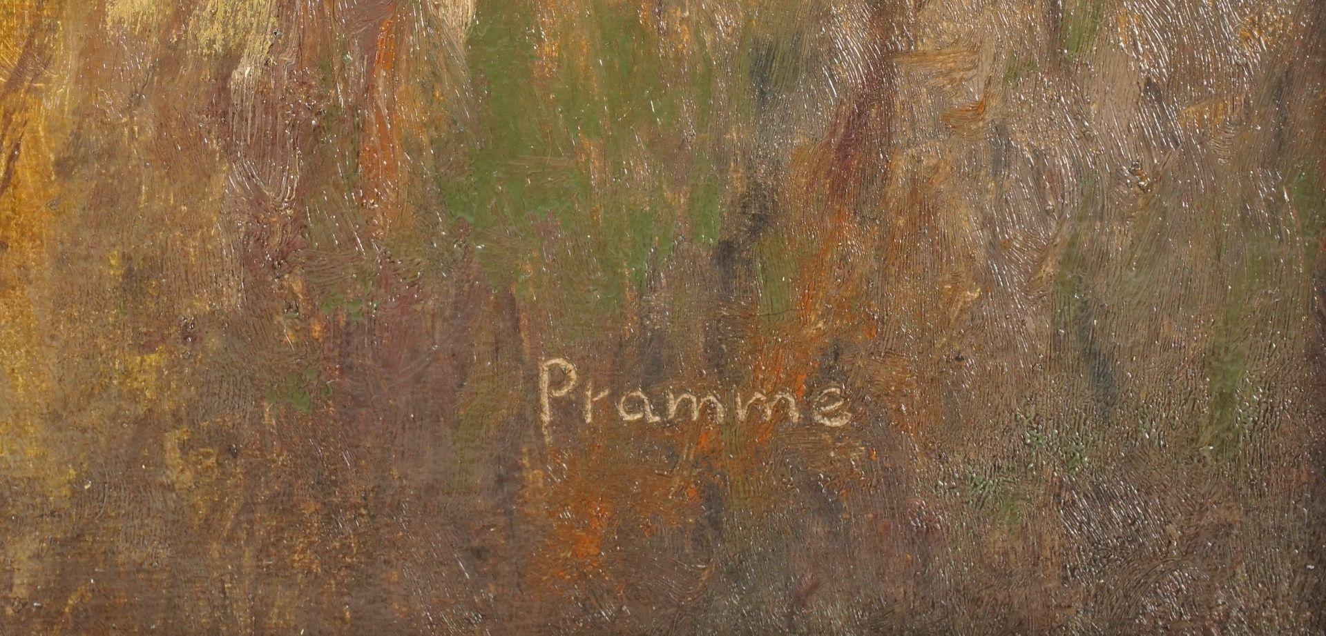 """Wilhelm Pramme, """"Im Klostergrund"""" (bei Blankenburg / Harz) - Bild 4 aus 4"""