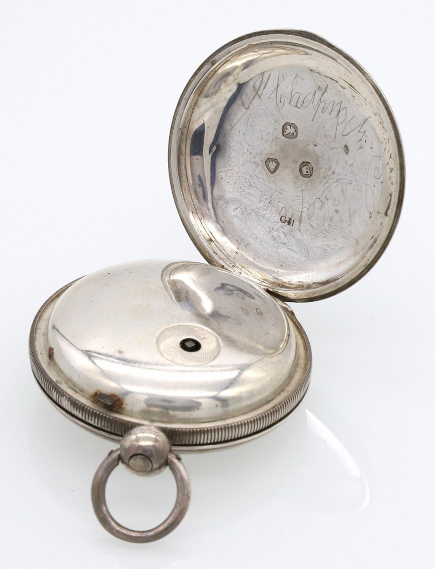 Bennet Wing London Spindeltaschenuhr mit Sprungdeckel, 1837 - Bild 2 aus 6