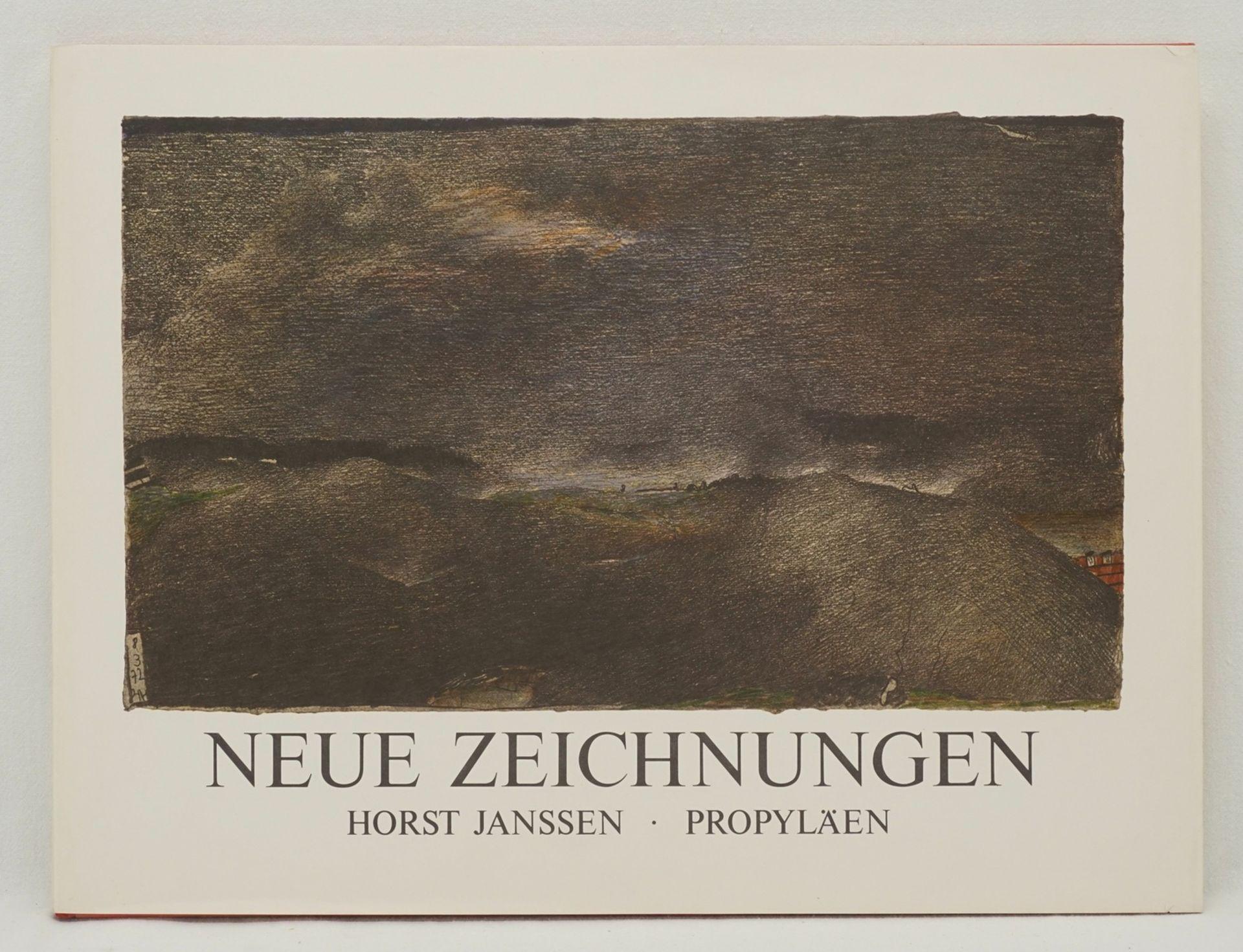 """Horst Janssen, """"Neue Zeichnungen"""""""