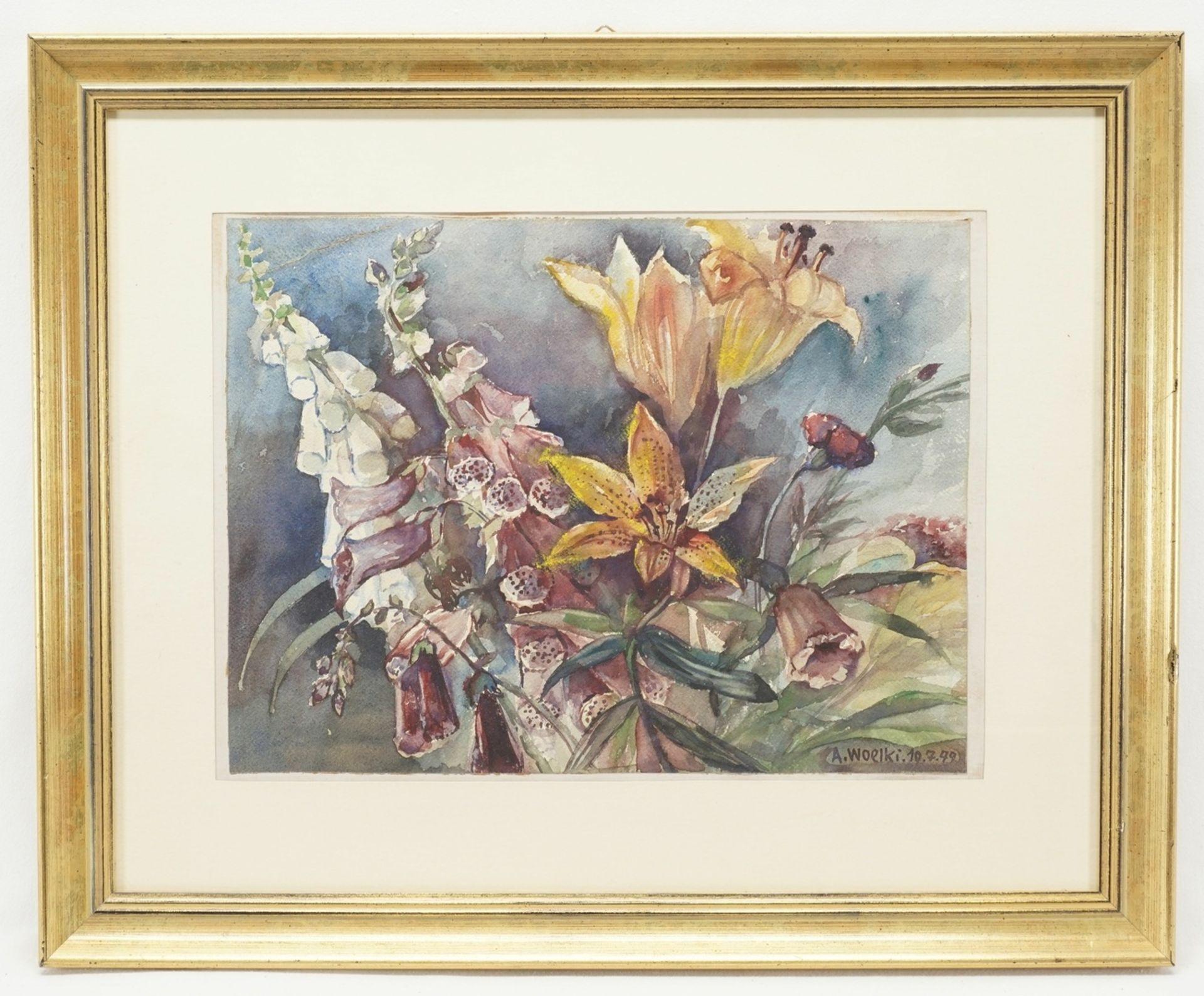 Anton Woelki, Fingerhut und Tigerlilien - Bild 2 aus 3