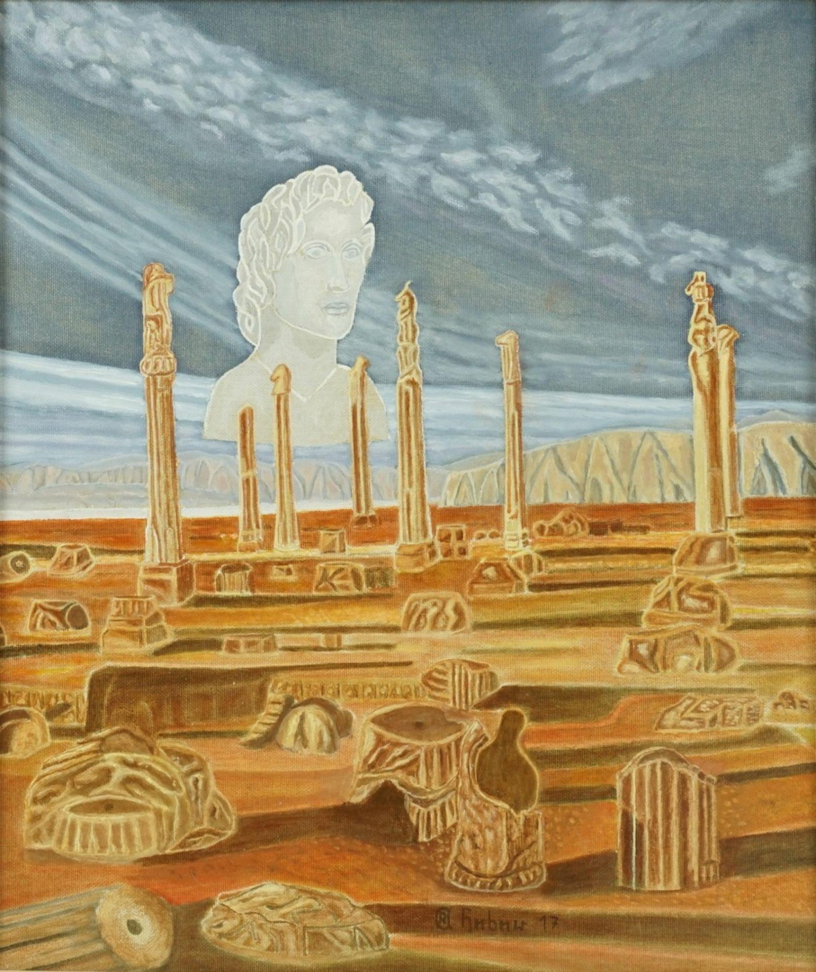 Rudolf-Andreas Heber, Allegorie auf die Vergänglichkeit
