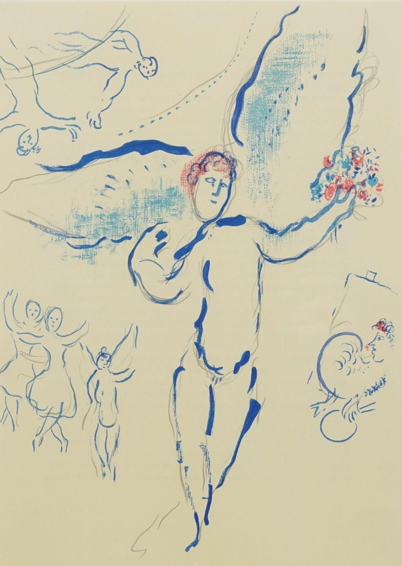 "Marc Chagall, ""L'Oiseau de feu"" (Feuervogel)"