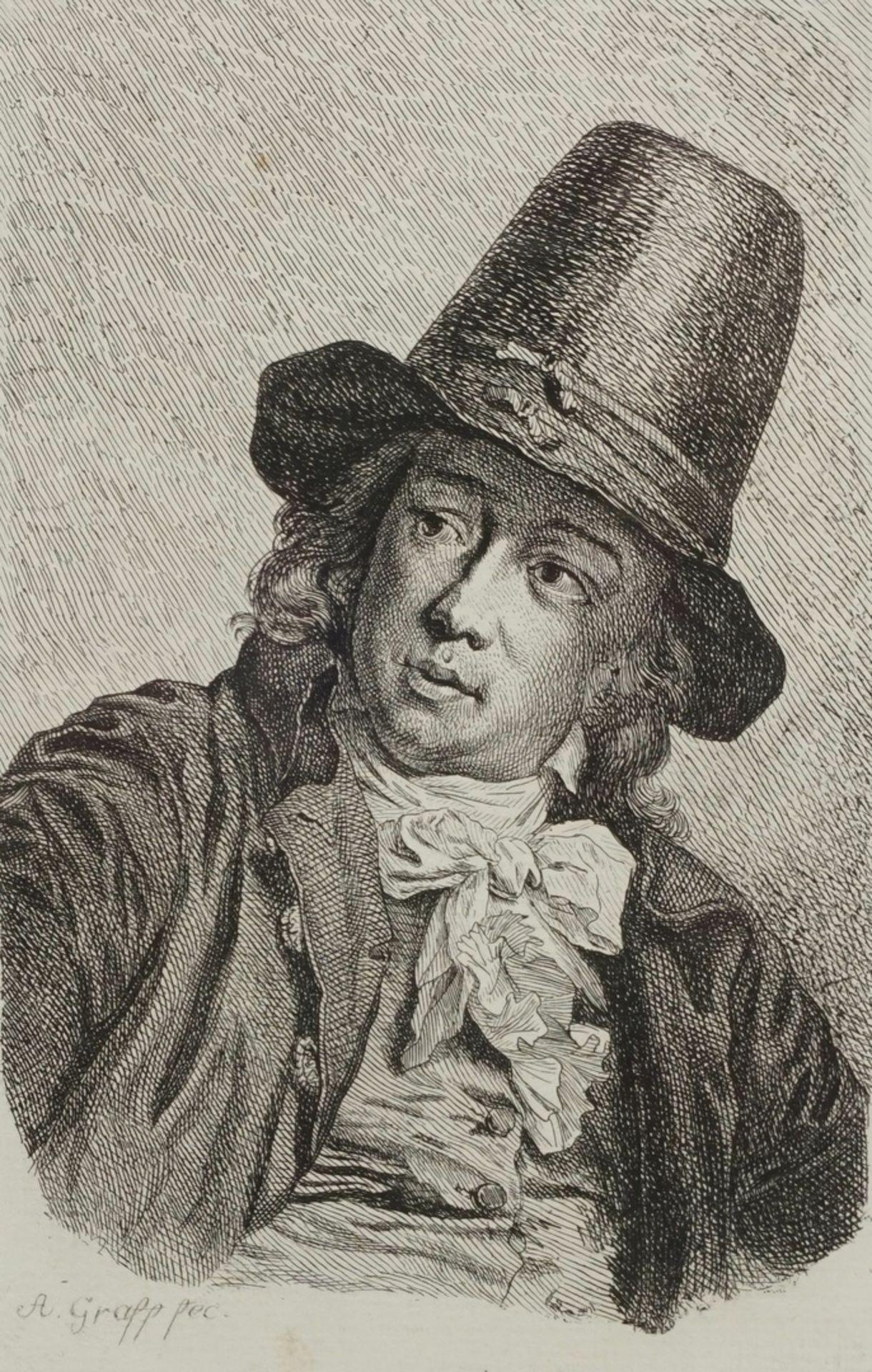 """Anton Graff, """"Basse, Kaufmann aus Frankfurt a.M."""""""
