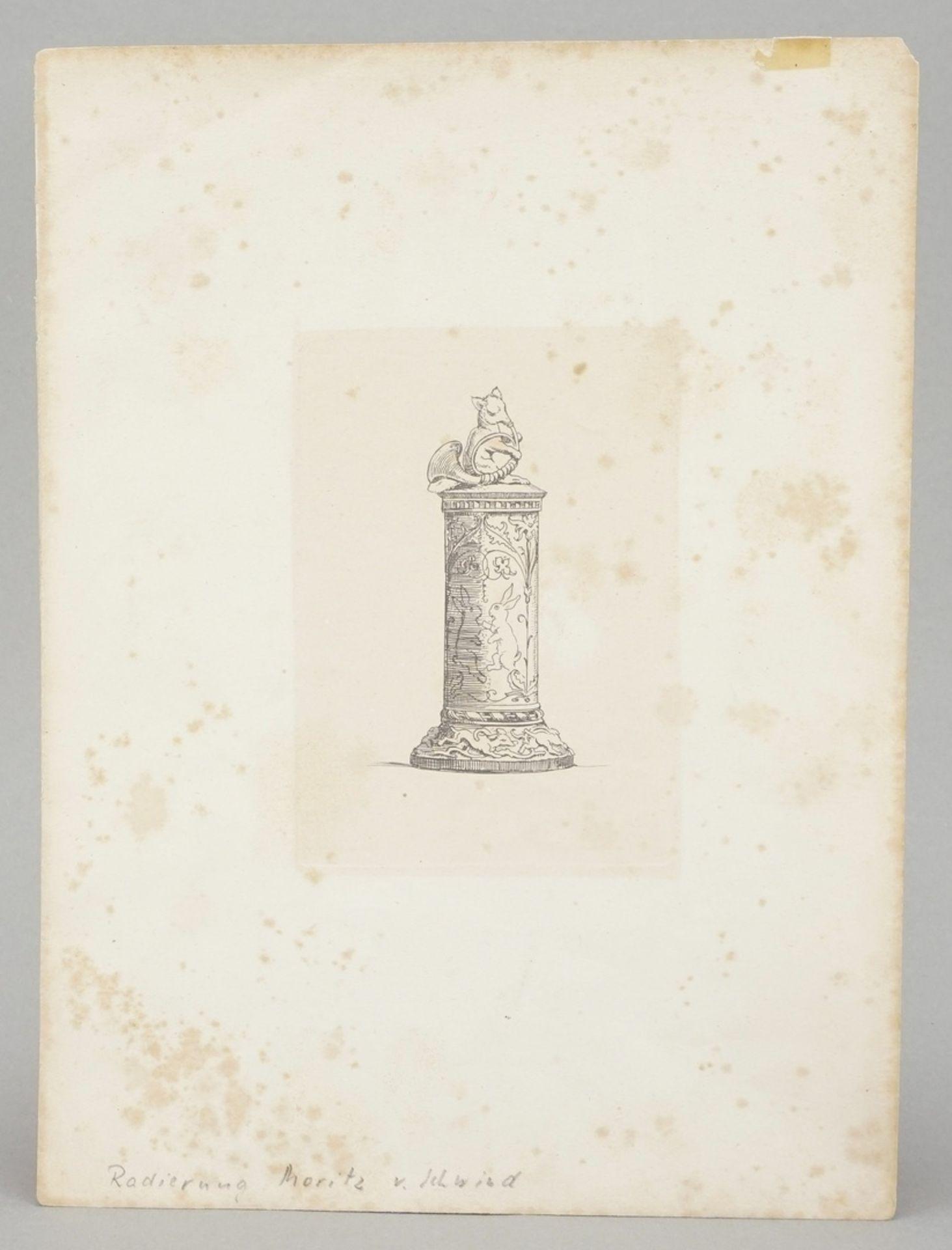 Moritz von Schwind, Jagdsäule - Bild 2 aus 2