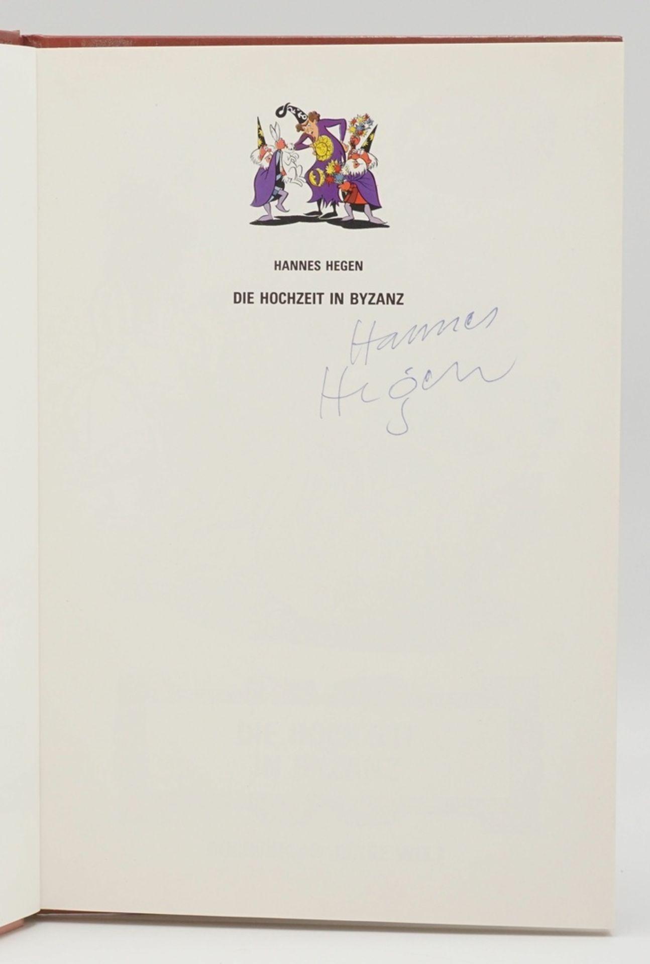 Hannes Hegen, signierter Digedag-Sammelband - Bild 2 aus 3