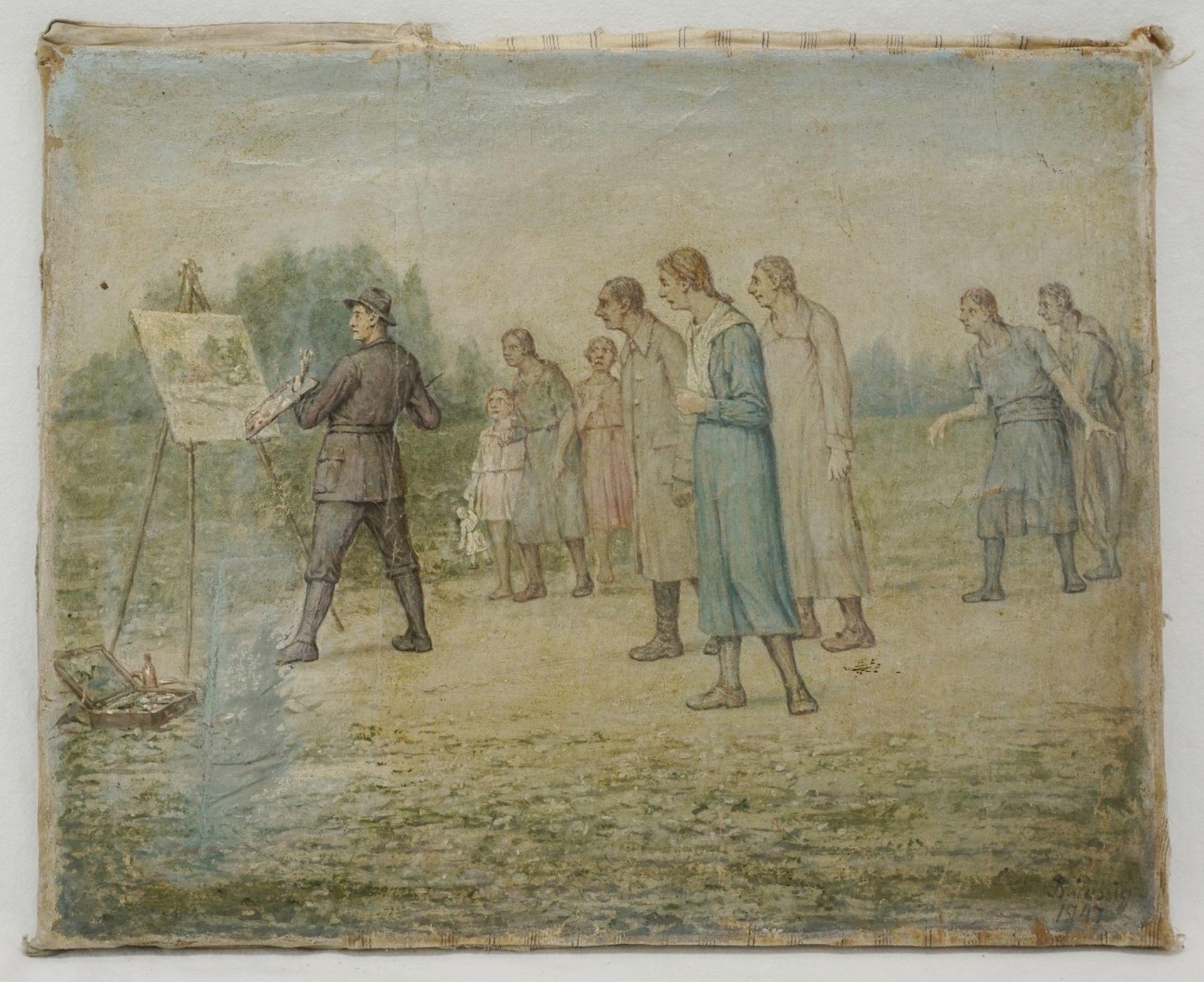 Bendix Passig, Der Maler als Attraktion - Bild 2 aus 4