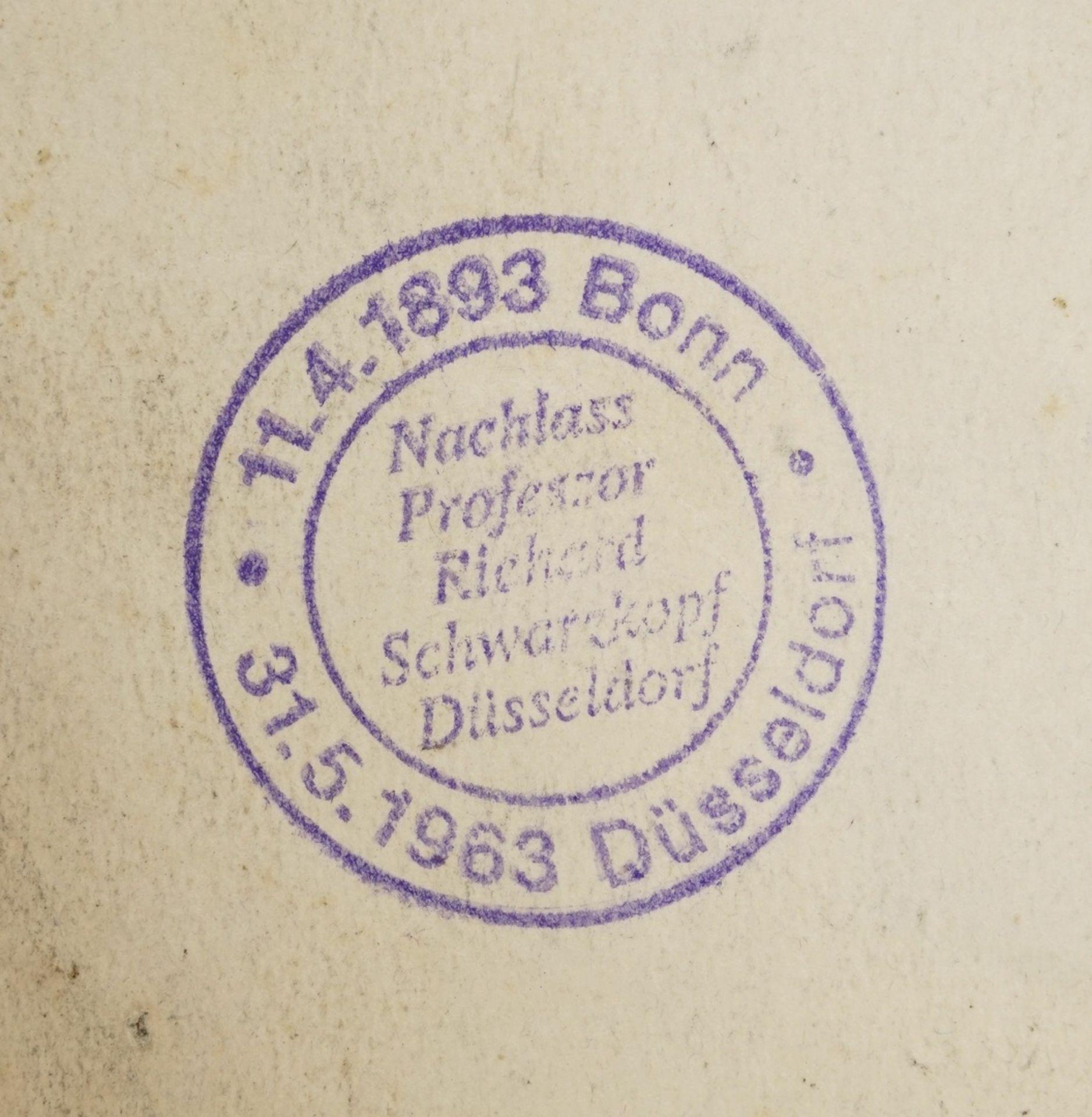 Richard Schwarzkopf, Zwei Engel mit Lorbeerkränzen - Bild 4 aus 4
