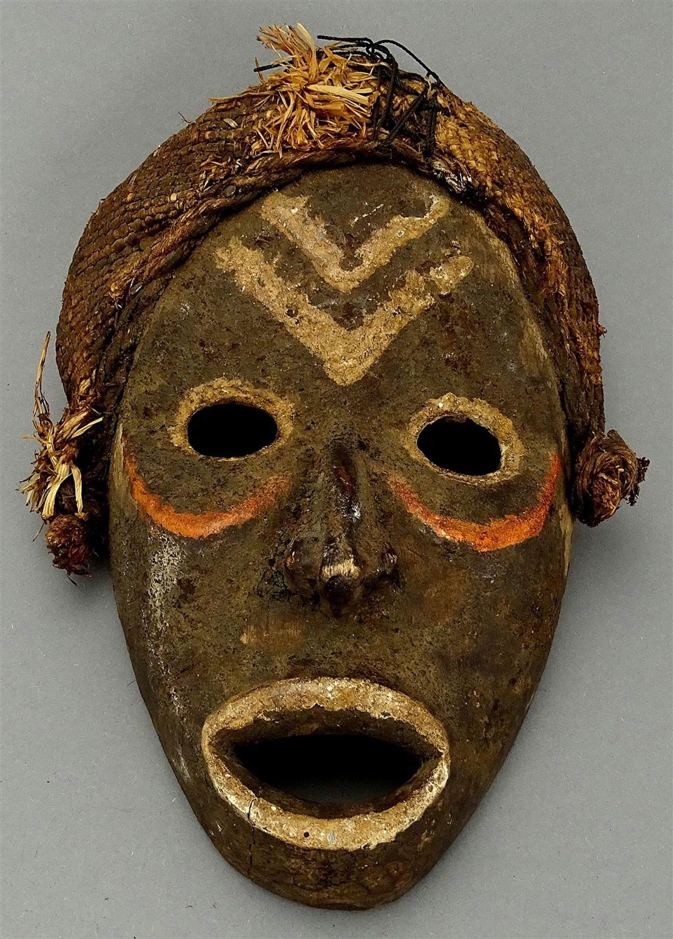 """Feuermeldermaske """"zakpai"""", Dan, Liberia / Elfenbeinküste (Côte d'Ivoire)"""