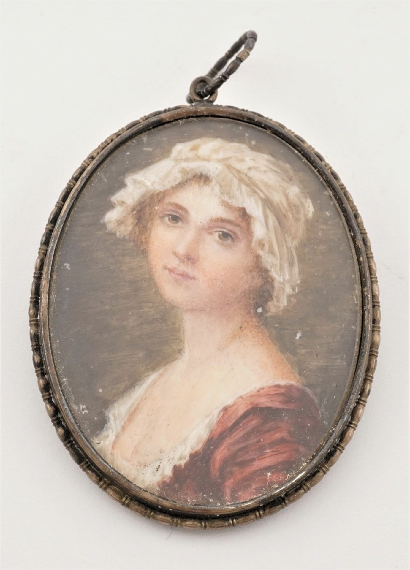 Miniatur-Portrait und -Brosche - Bild 4 aus 4