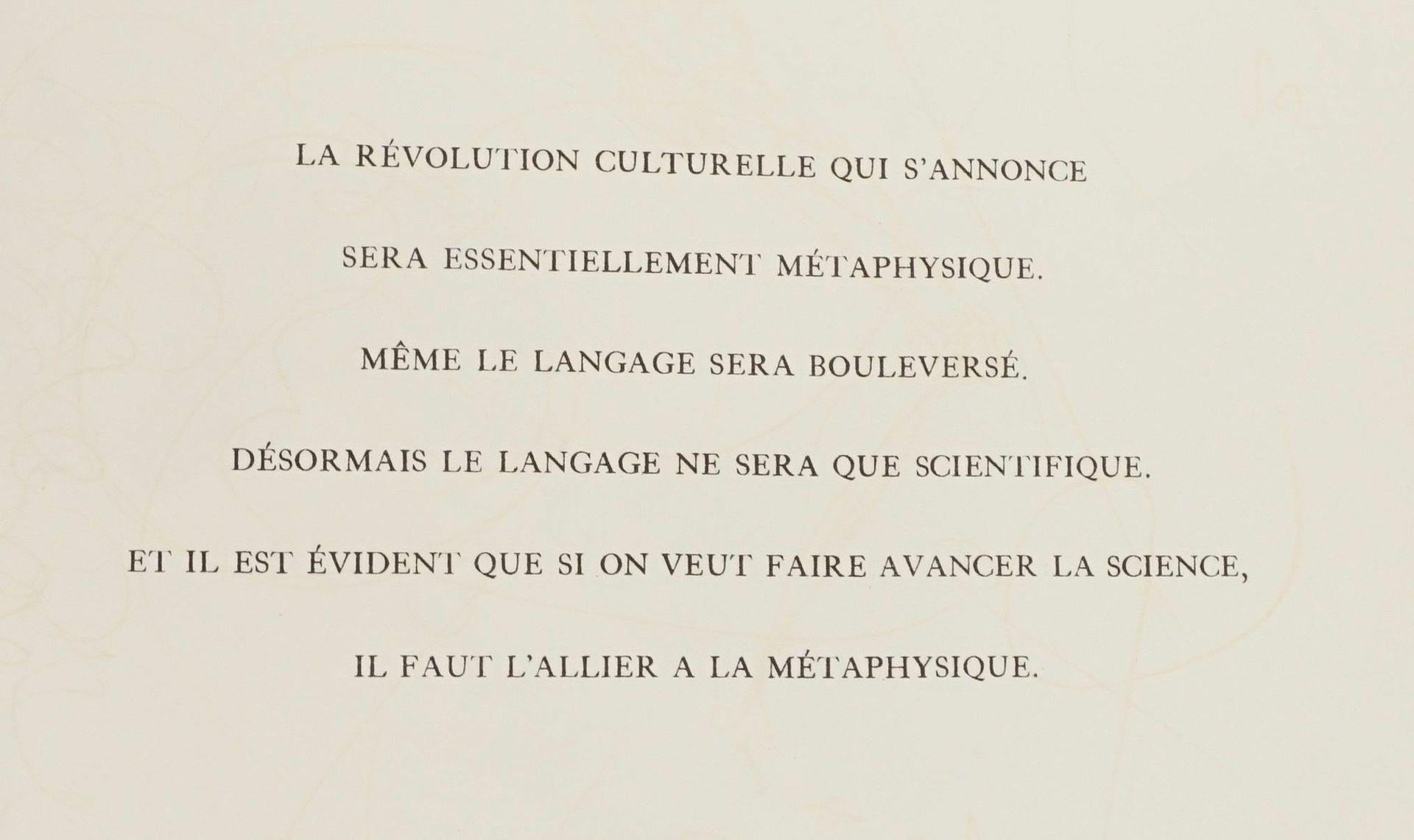 "Salvador Dalí, ""Salvador Dalí pour Arno Breker"" - Bild 4 aus 5"