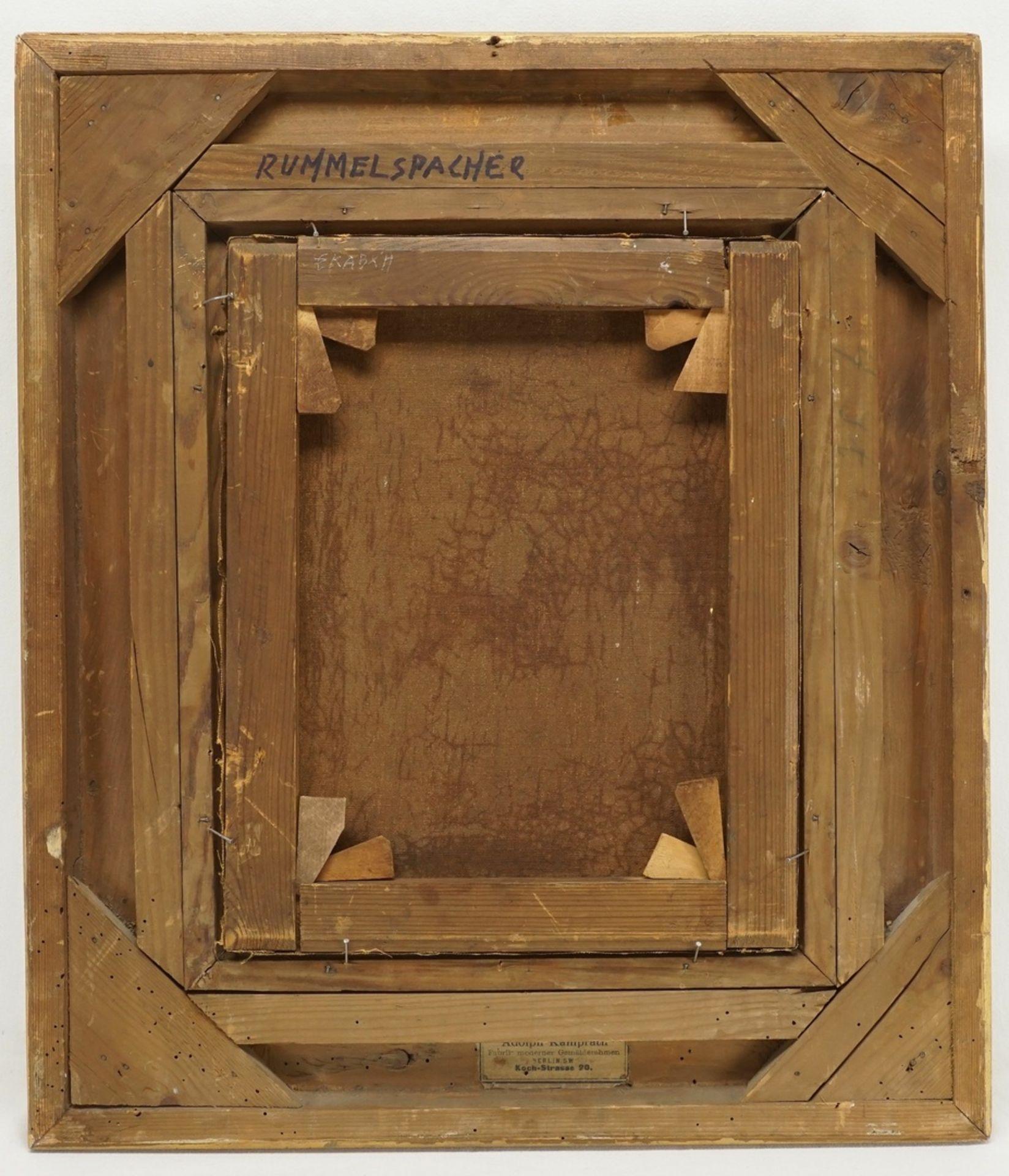 Joseph Rummelspacher, Waldinneres mit kleinem Bachlauf - Bild 3 aus 4