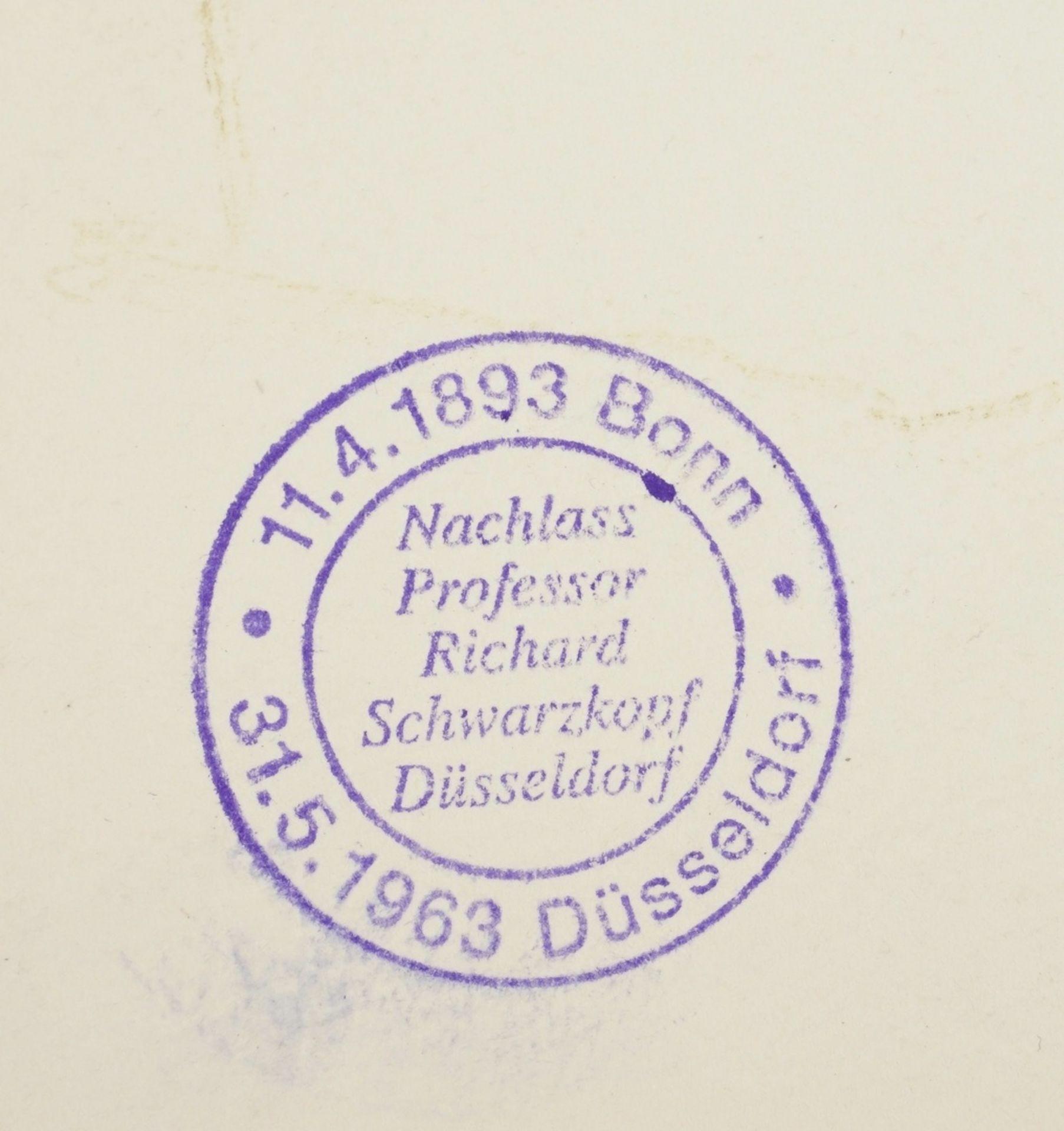 Richard Schwarzkopf, Zwei Hirten mit Schaf - Bild 5 aus 5