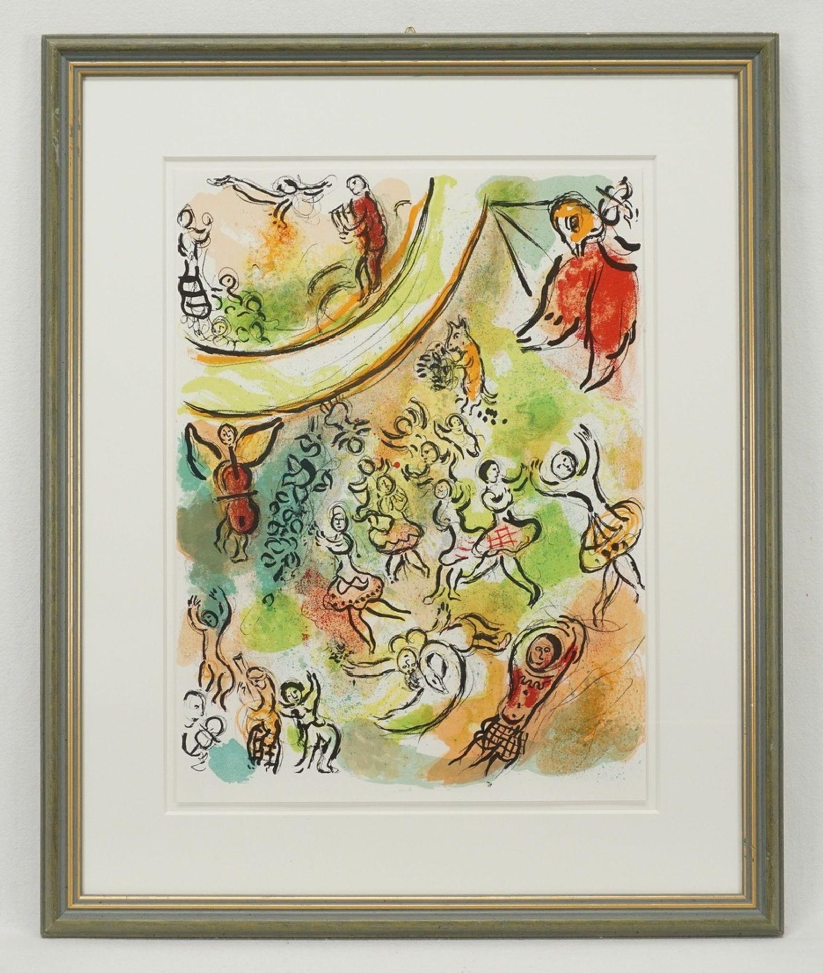 """Marc Chagall, """"Le plafond de l'Opéra de Paris"""" (Das Deckengemälde der Pariser Oper) - Bild 2 aus 2"""
