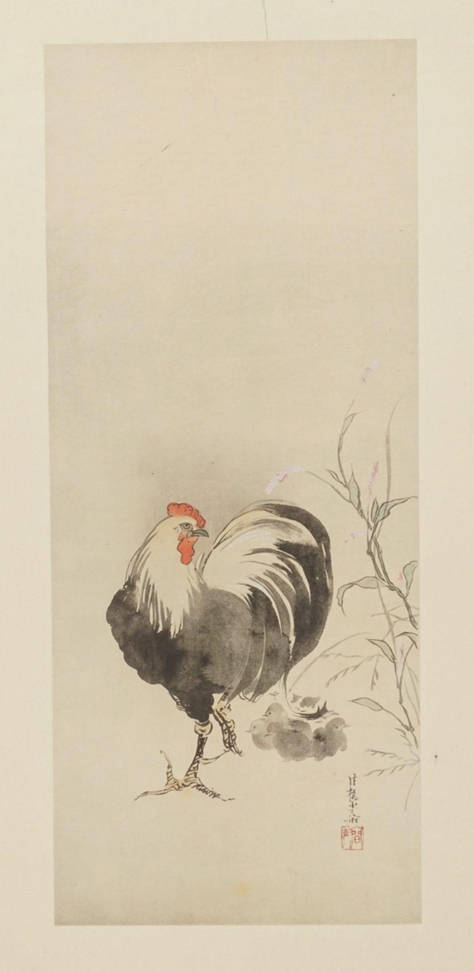 Konvolut Holzschnitte mit Vögeln - Bild 4 aus 4