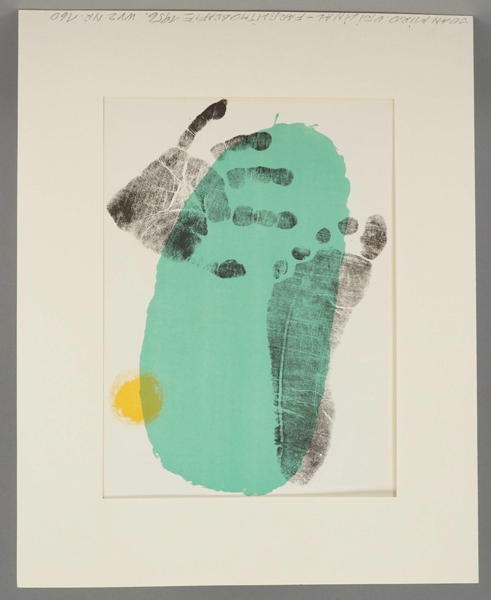 """Joan Miró, """"Pie y mano"""" (Hand und Fuß) - Bild 2 aus 4"""