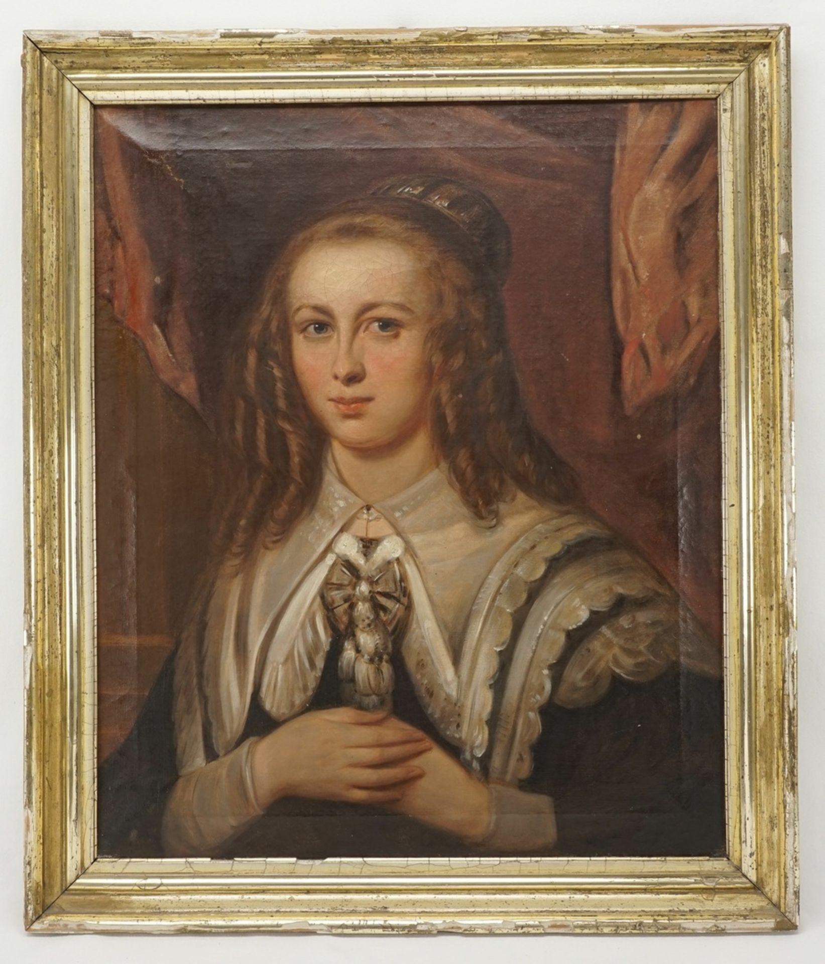 Philipp Wirth, Brustbild einer jungen Dame - Bild 2 aus 5