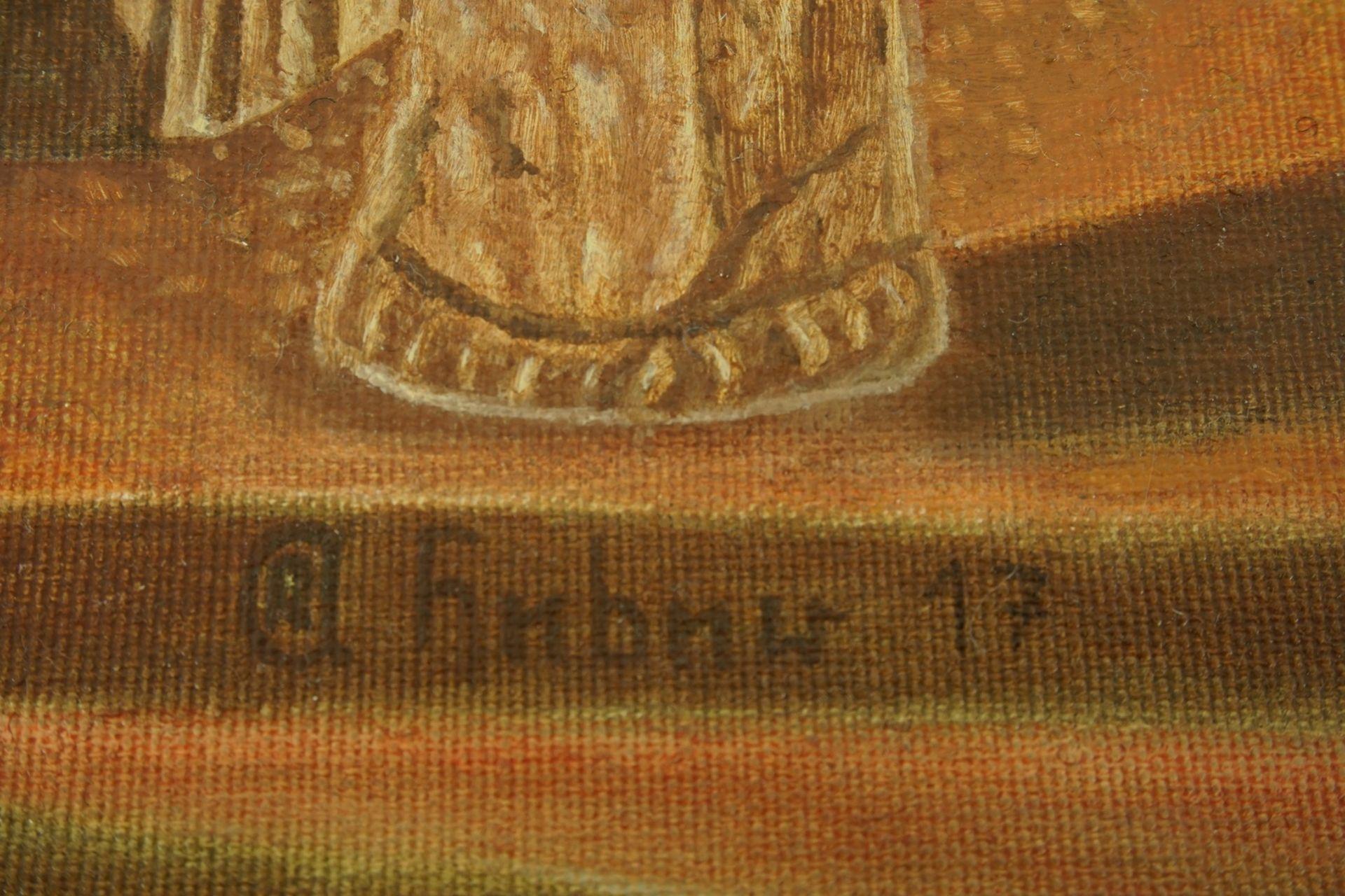 Rudolf-Andreas Heber, Allegorie auf die Vergänglichkeit - Bild 4 aus 4