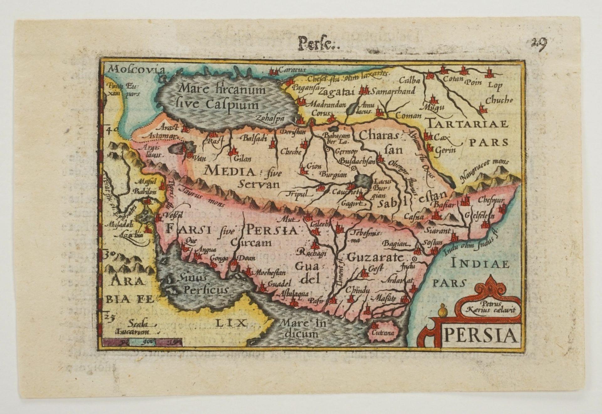 """Petrus Bertius, """"Persia"""" (Landkarte von Persien) - Bild 3 aus 4"""