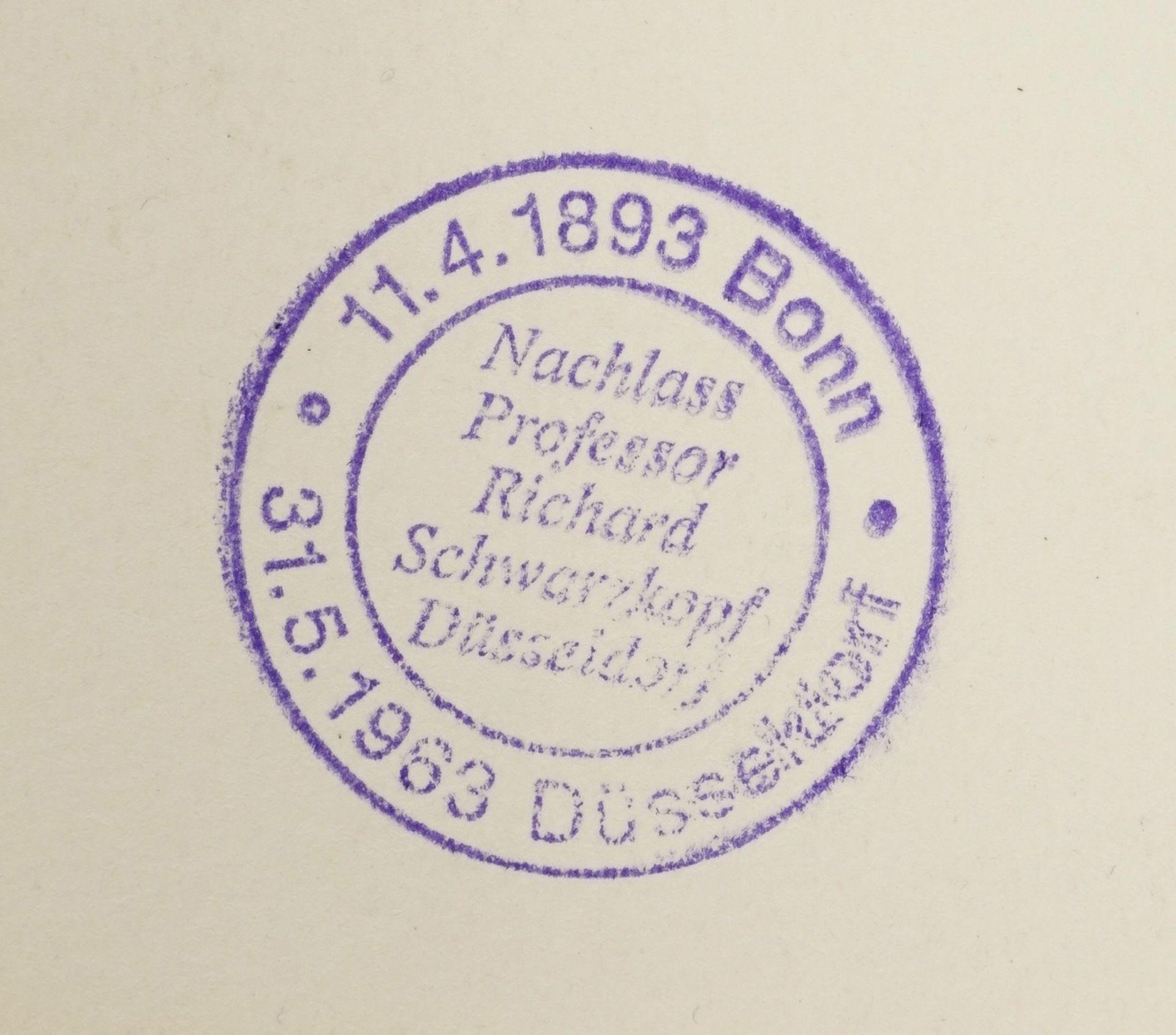 Richard Schwarzkopf, Zwei Hirten mit Schaf - Bild 4 aus 4