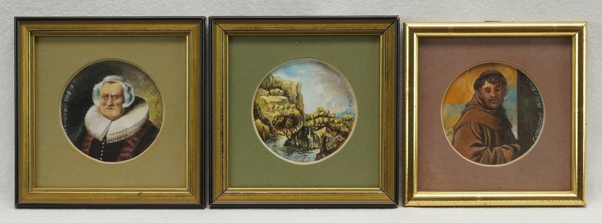 Rudolf Reinisch, Sechs Miniaturbilder - Bild 4 aus 4