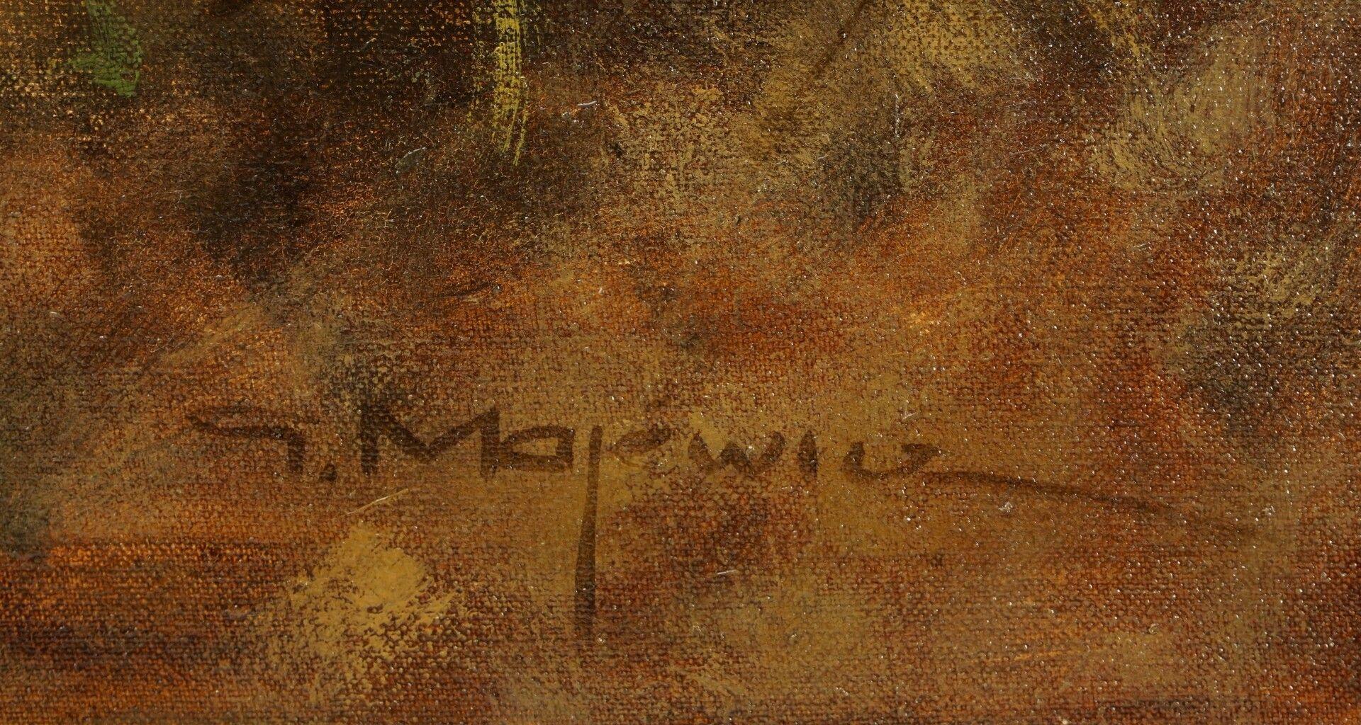 Georg Majewicz, Kapitalhirsch auf kleiner Lichtung - Bild 4 aus 4