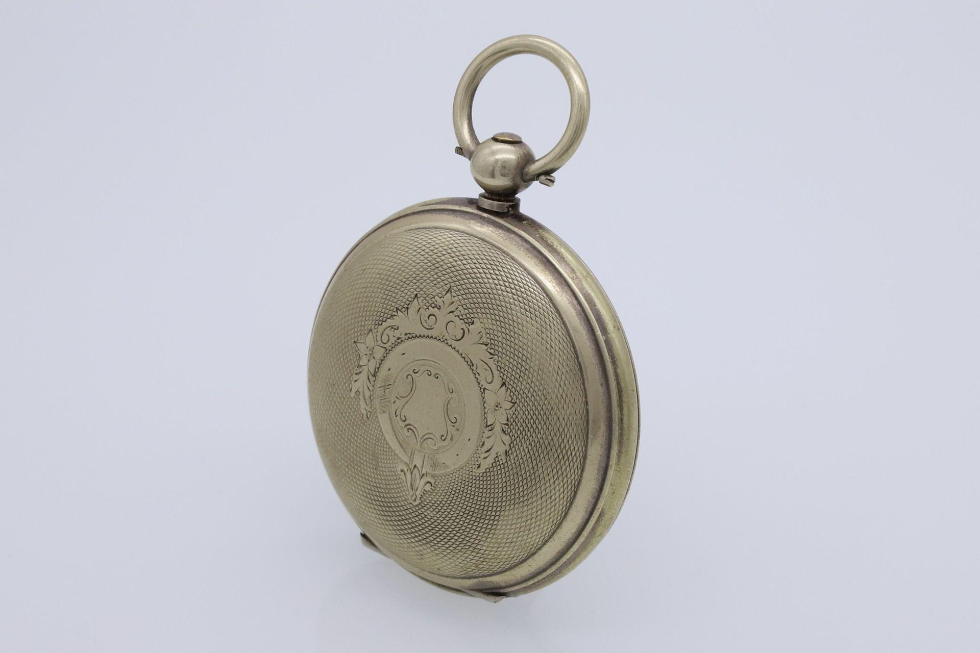 Osmanische Savonnette Taschenuhr, Ende 19. Jh. - Bild 3 aus 6