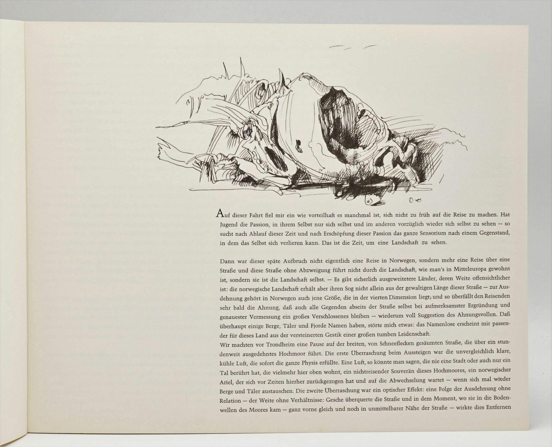 """Horst Janssen, """"Norwegisches Skizzenbuch"""" - Bild 2 aus 4"""