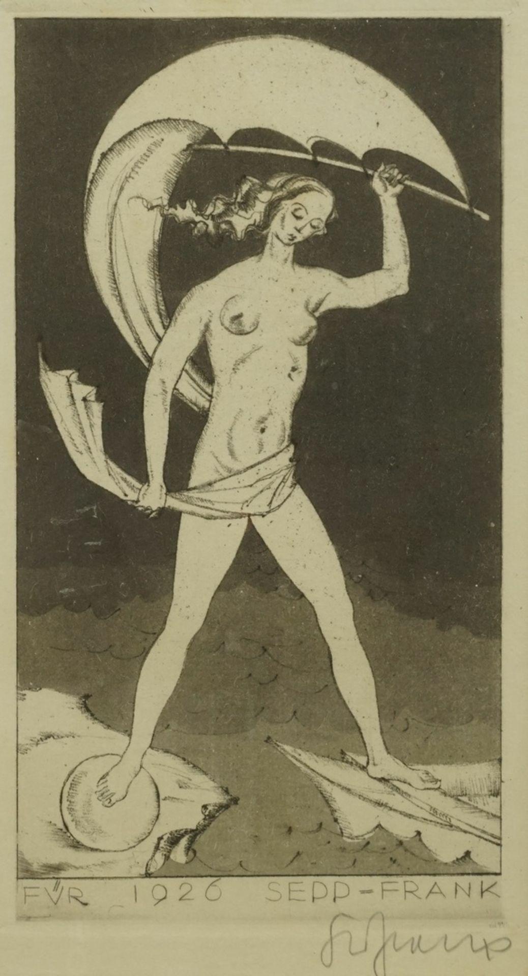 "Sepp Frank, ""Für 1926"""