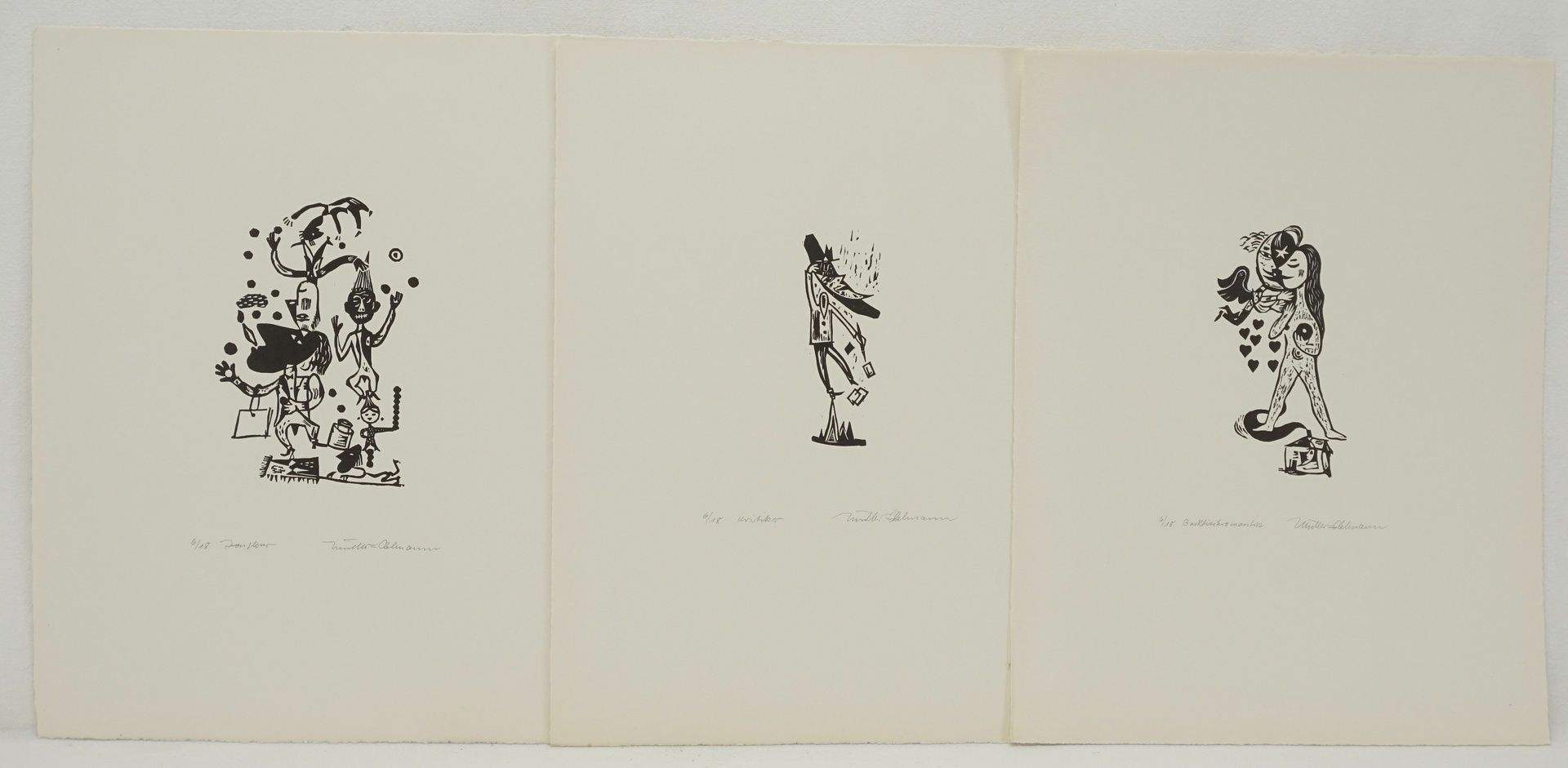 """Rudolf Müller-Oelmann, """"Kleines Welttheater"""" - Bild 2 aus 3"""