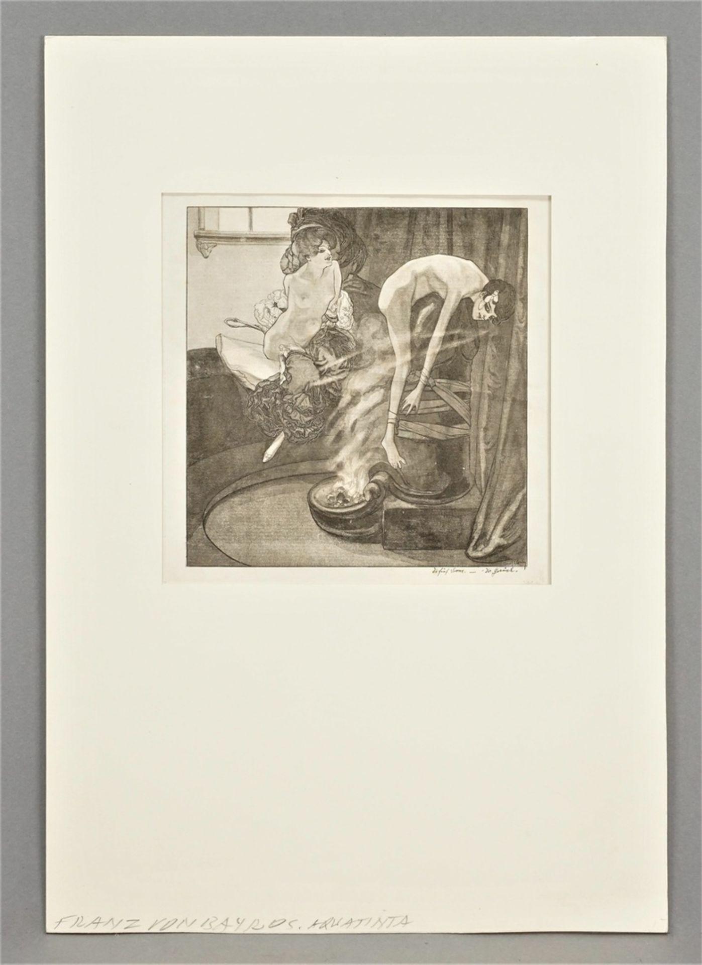 """Franz von Bayros, """"Die Fünf Sinne - Der Geruch"""" - Bild 2 aus 3"""