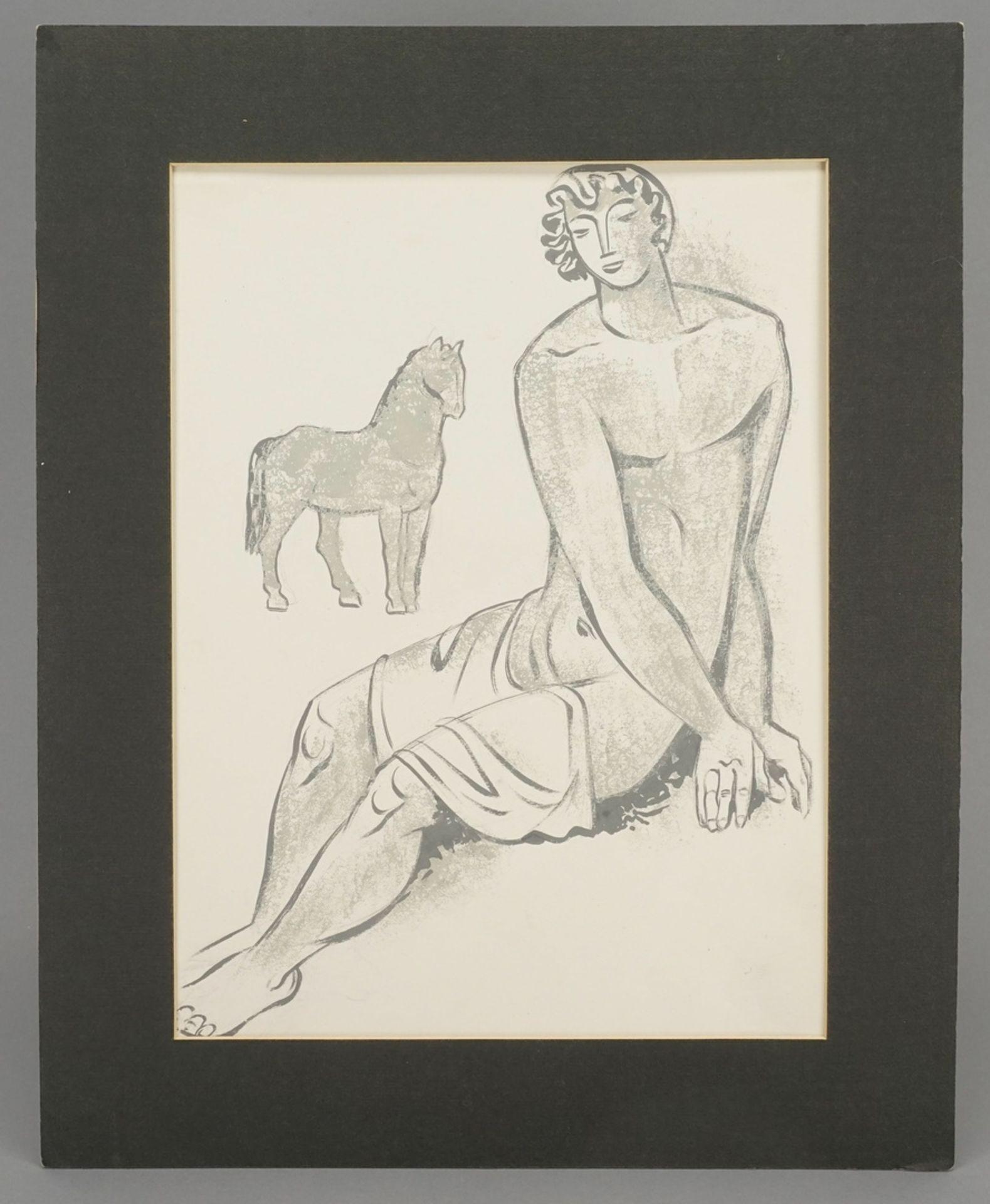 """Richard Schwarzkopf, """"Jüngling mit Pferd"""" - Bild 2 aus 4"""