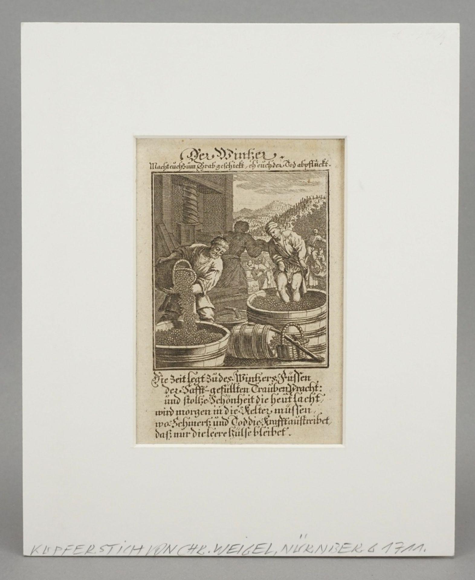 """Christoph Weigel der Ältere, """"Der Wintzer"""" - Bild 2 aus 3"""