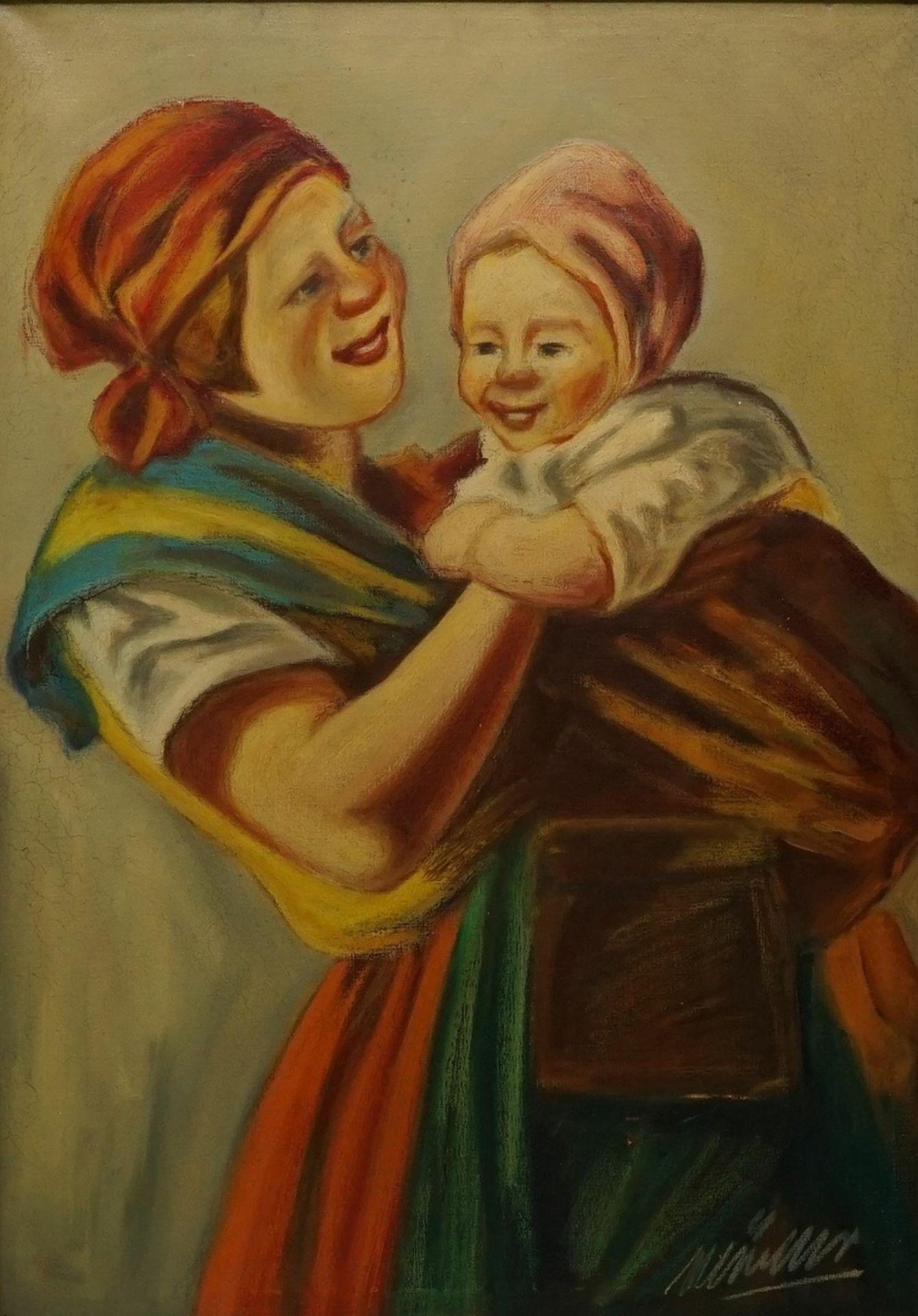 Müller, Mutter mit Kind