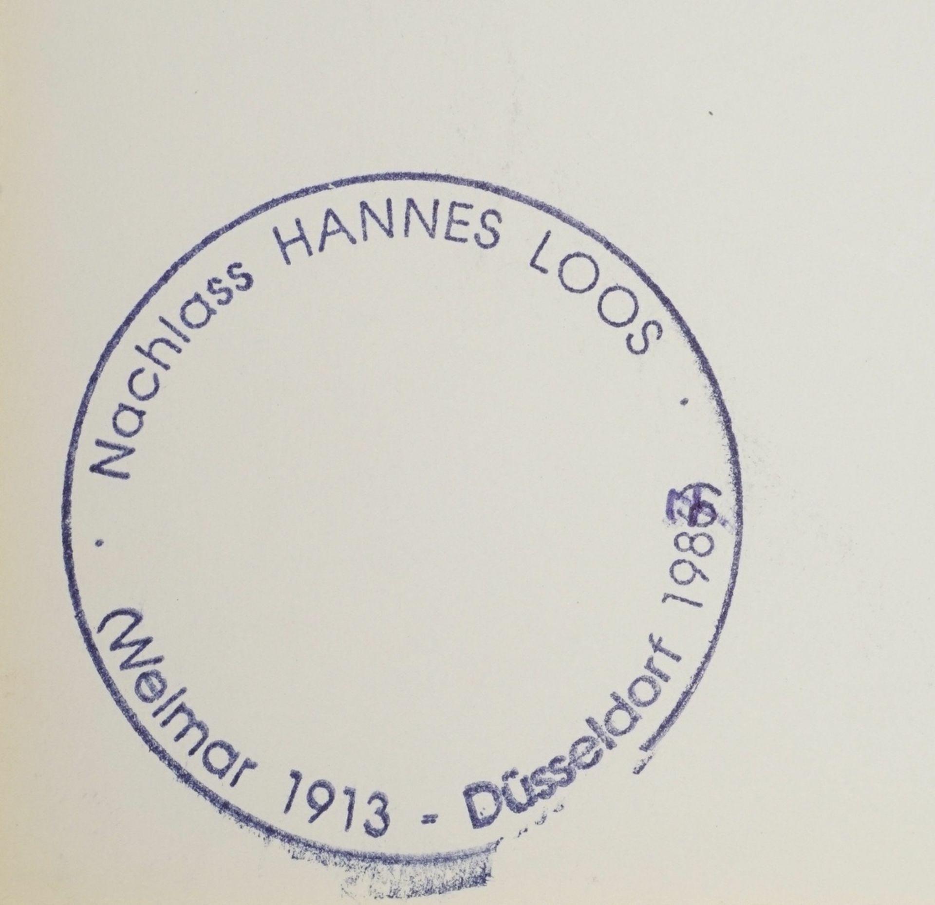 Hannes Loos, Männlicher Rückenakt, aufgestützt - Bild 4 aus 4